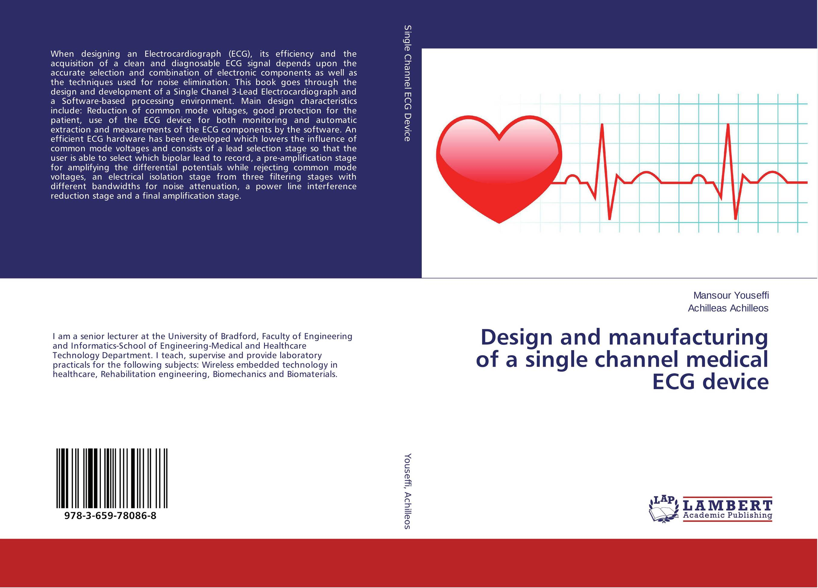 Design and manufacturing of a single channel medical ECG device купить