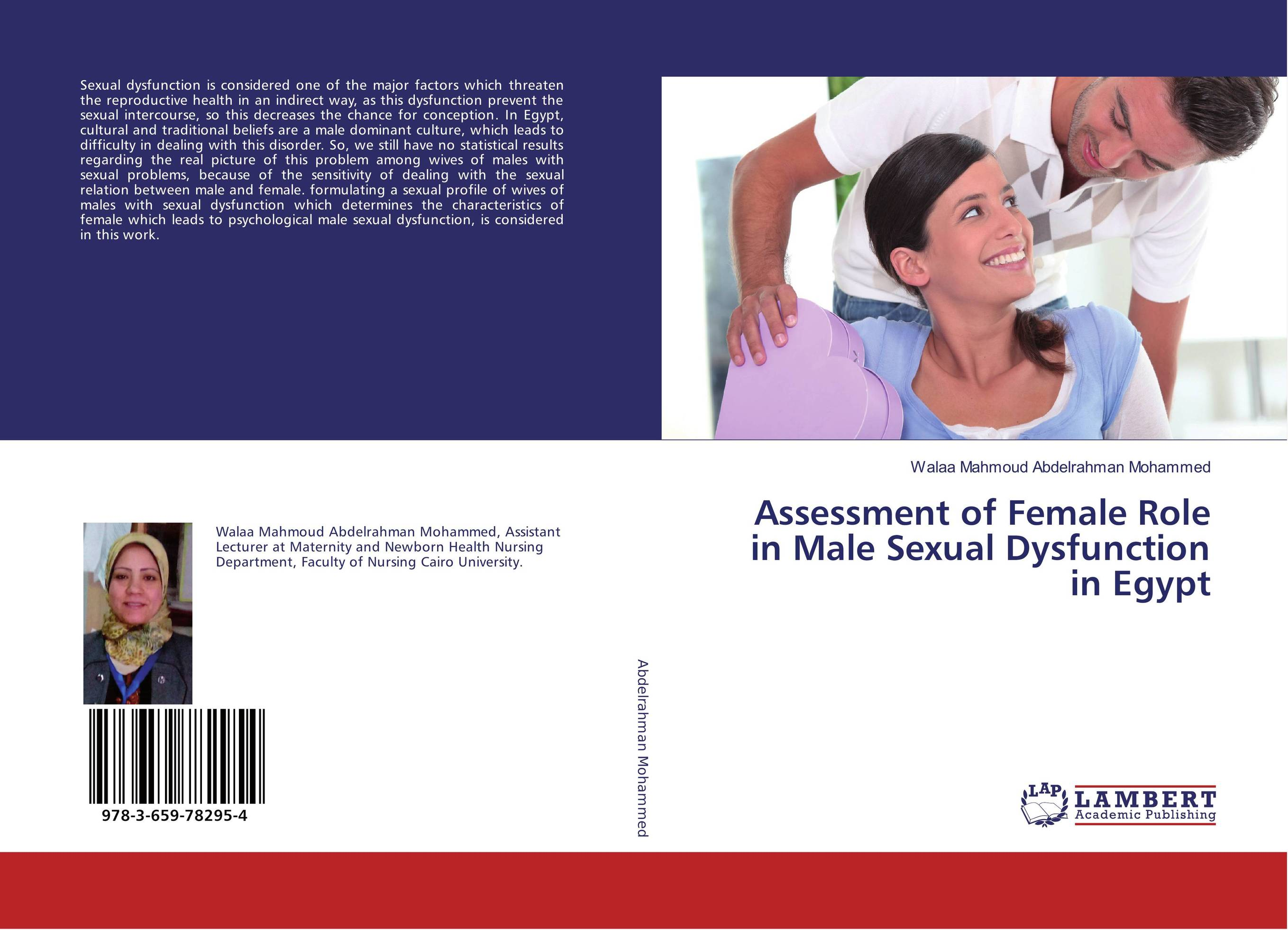 Assessment of Female Role in Male Sexual Dysfunction in Egypt assessment of sexual harassment among female in schools ethiopia