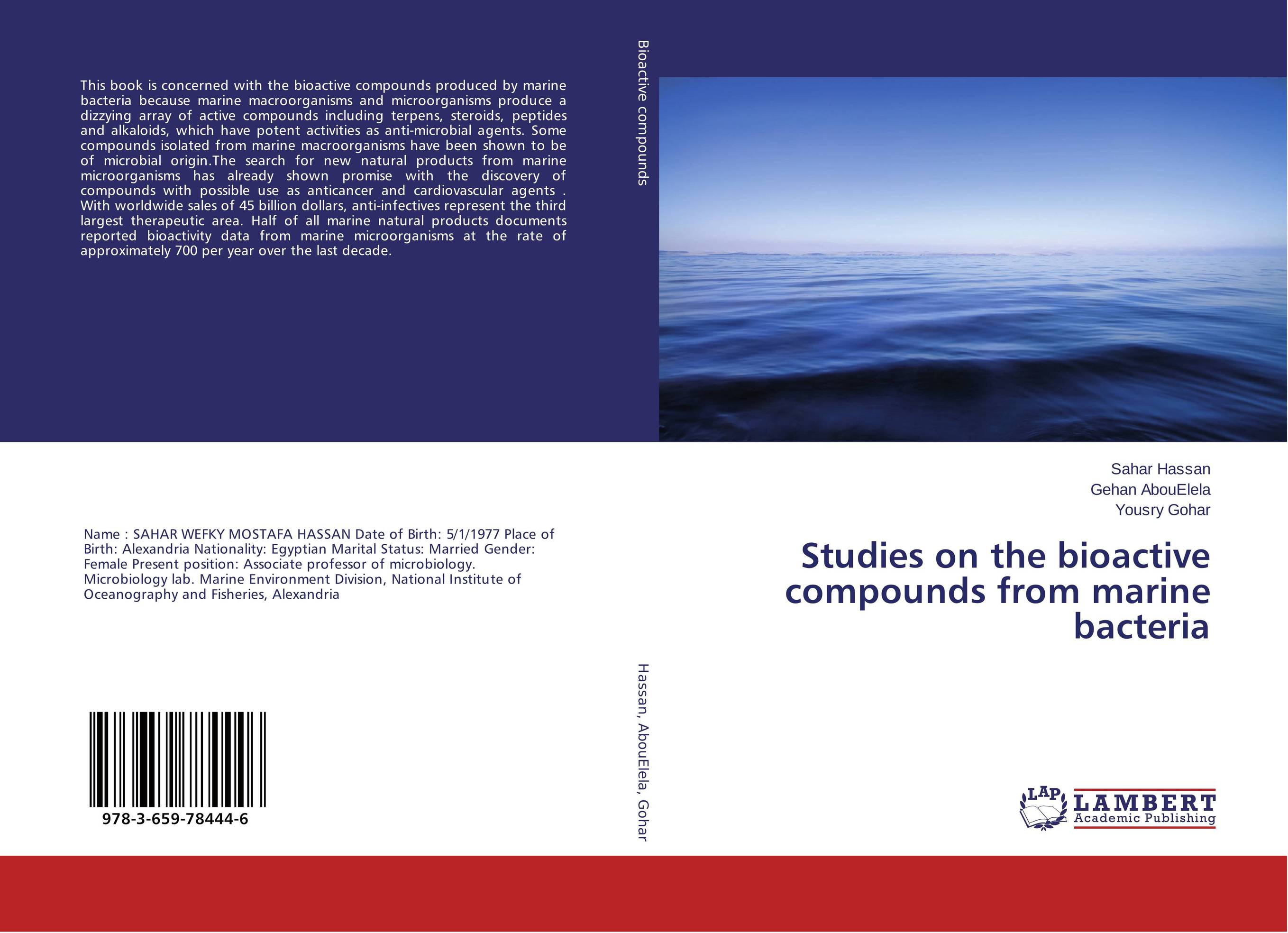 Studies on the bioactive compounds from marine bacteria zia muhammad biotransformation of bioactive compounds