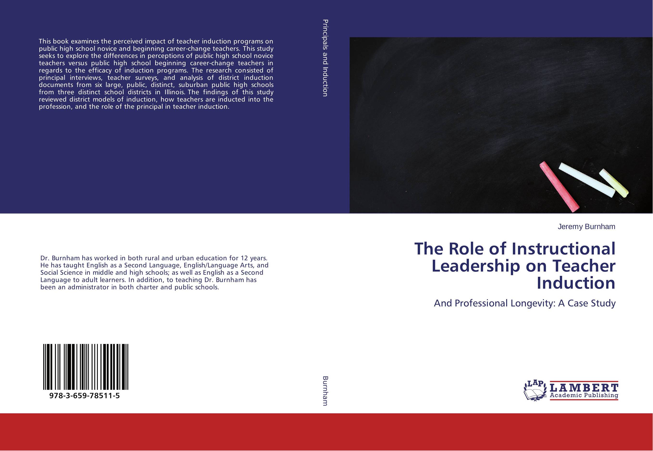 The Role of Instructional Leadership on Teacher Induction role of school leadership in promoting moral integrity among students