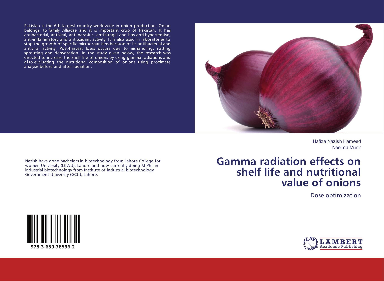 Gamma radiation effects on shelf life and nutritional value of onions rakesh kumar khandal gurdeep singh and rakesh kumar singh destruction of polychlorinated biphenyls in oils by gamma radiation