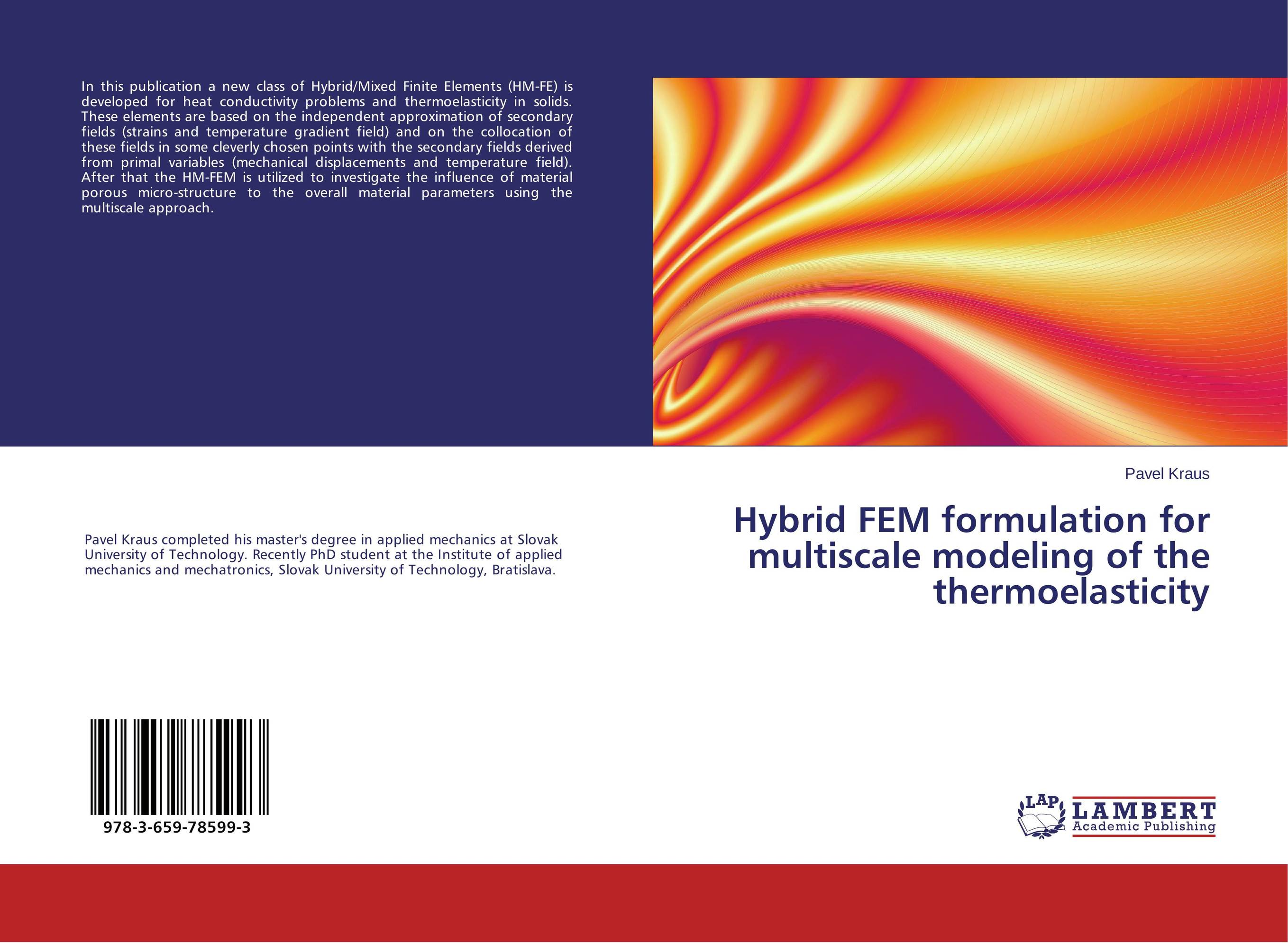 Hybrid FEM formulation for multiscale modeling of the thermoelasticity class numbers quadratic and cyclotomic fields