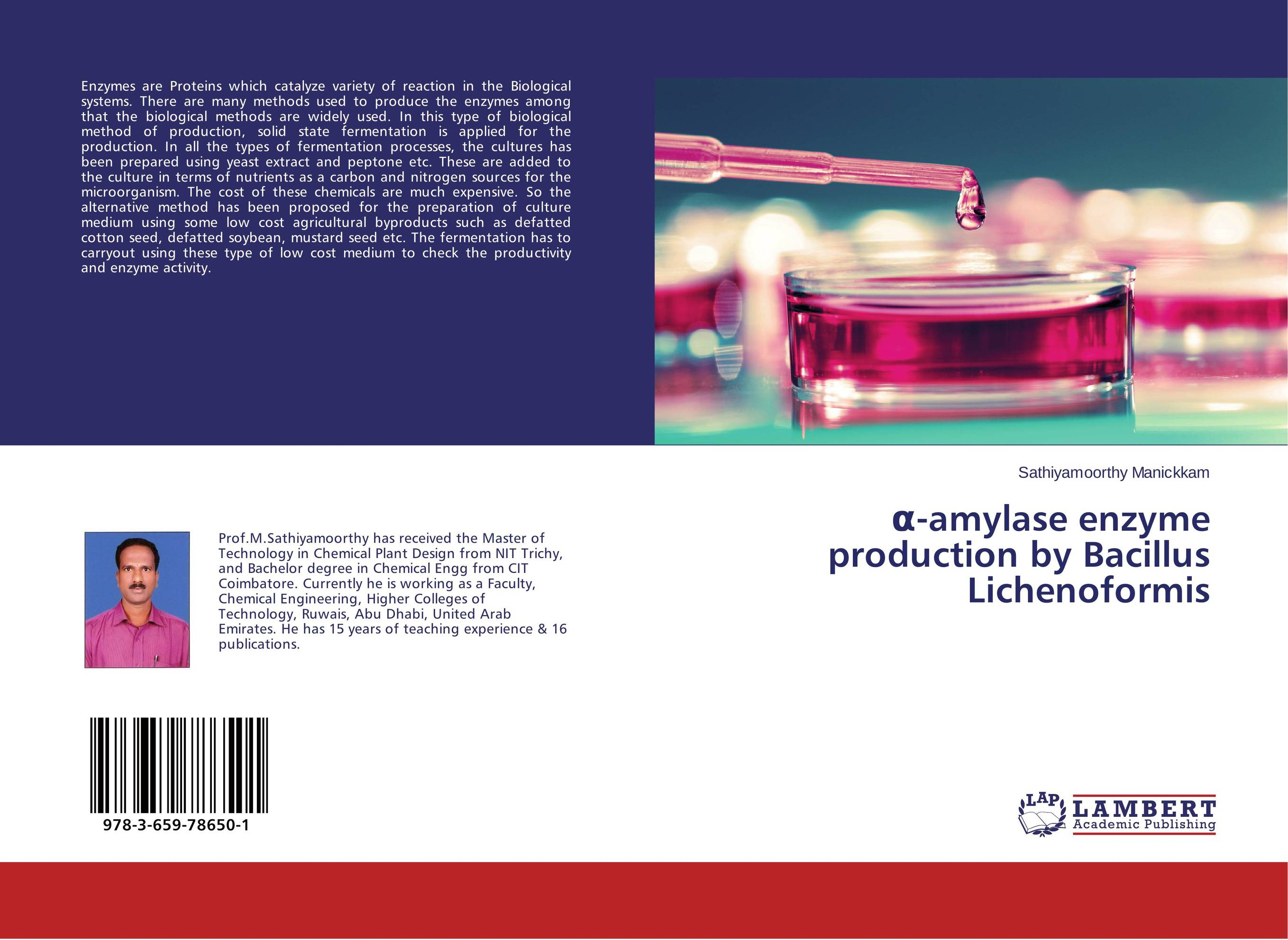 ?-amylase enzyme production by Bacillus Lichenoformis methods in enzymology chromatin and chromatin remodeling enzymes part a vol 375