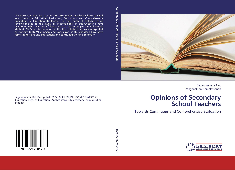 Opinions of Secondary School Teachers key words 2c i like to write