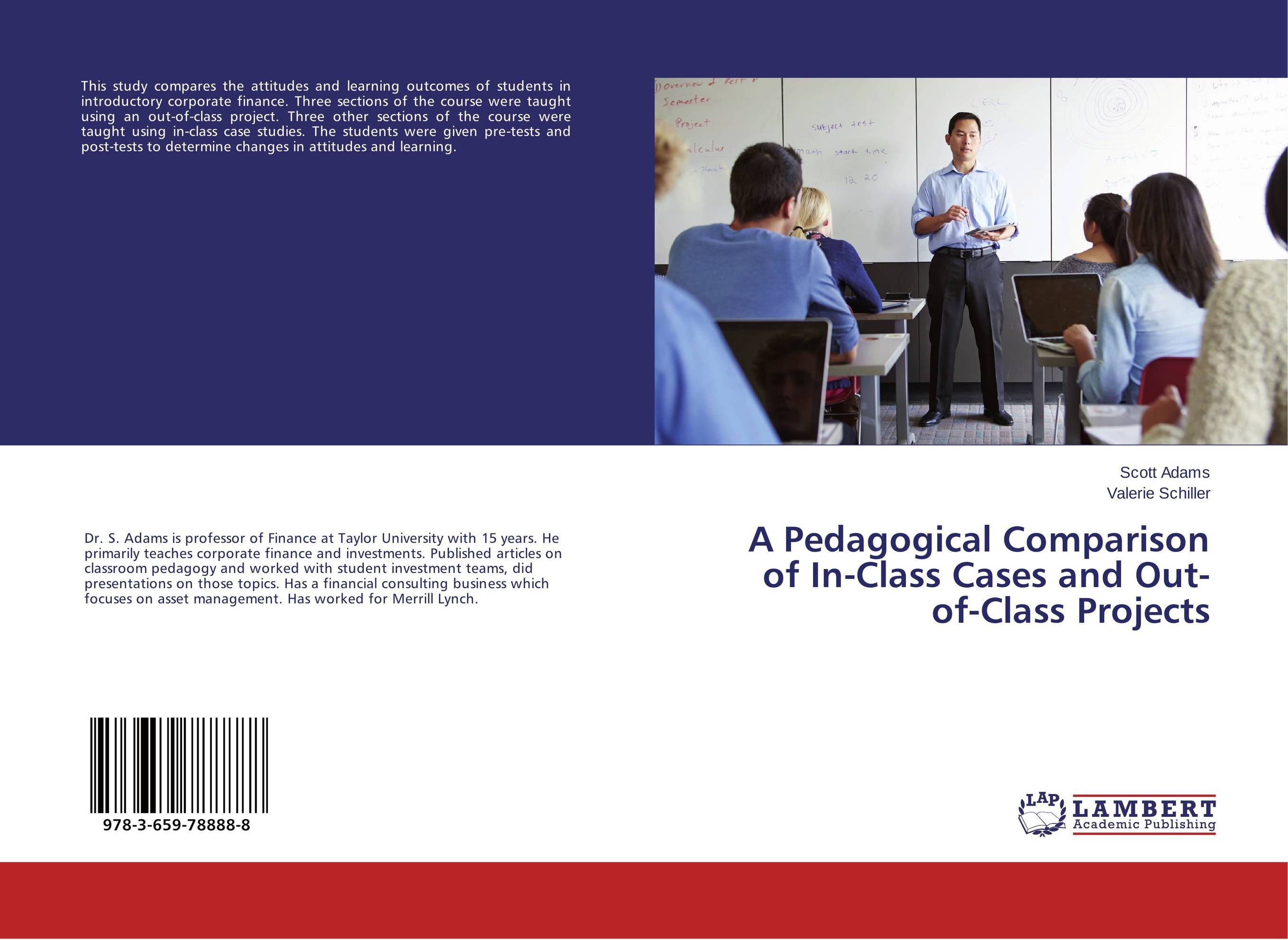 все цены на A Pedagogical Comparison of In-Class Cases and Out-of-Class Projects