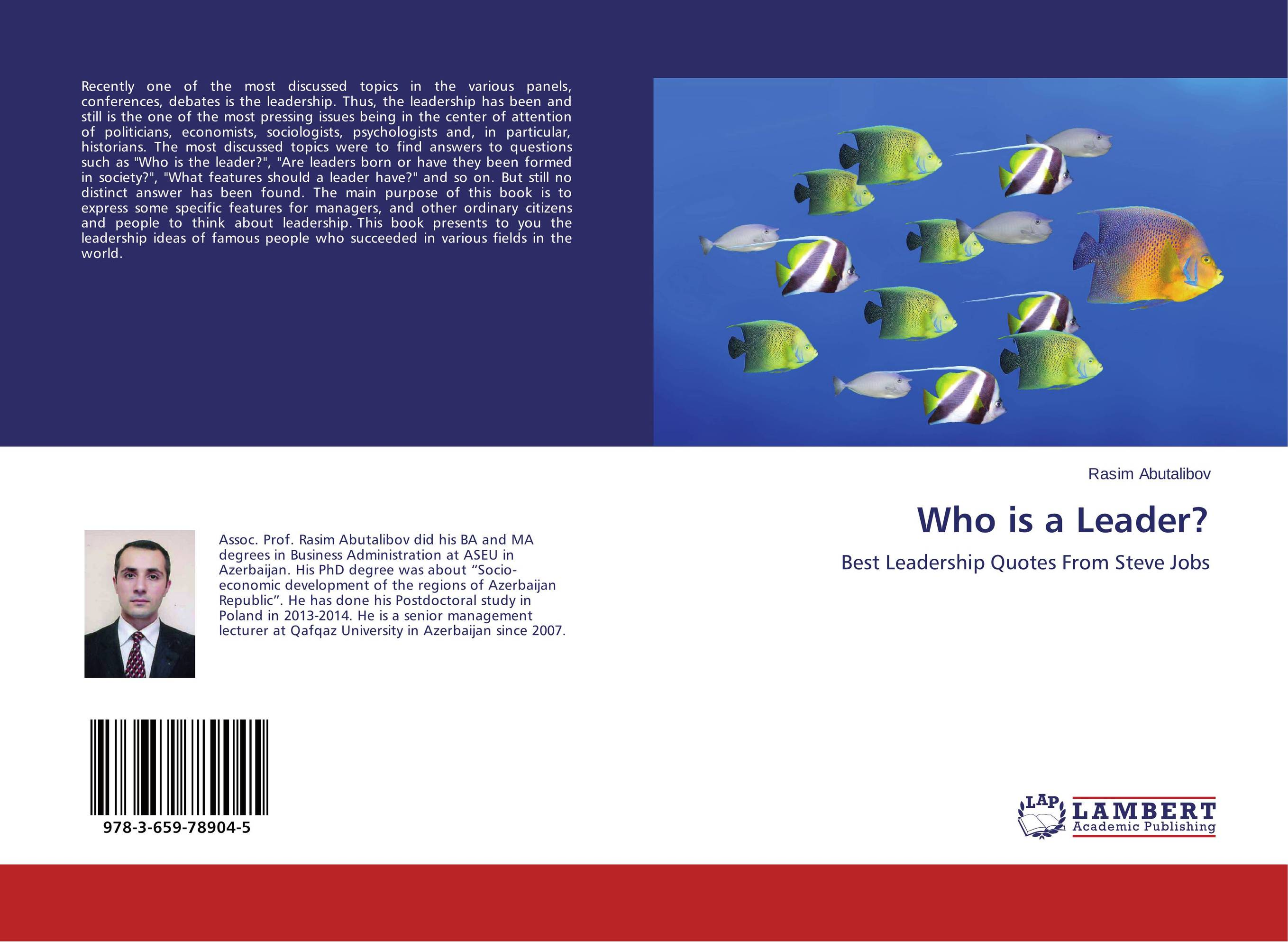 Who is a Leader? who is a leader