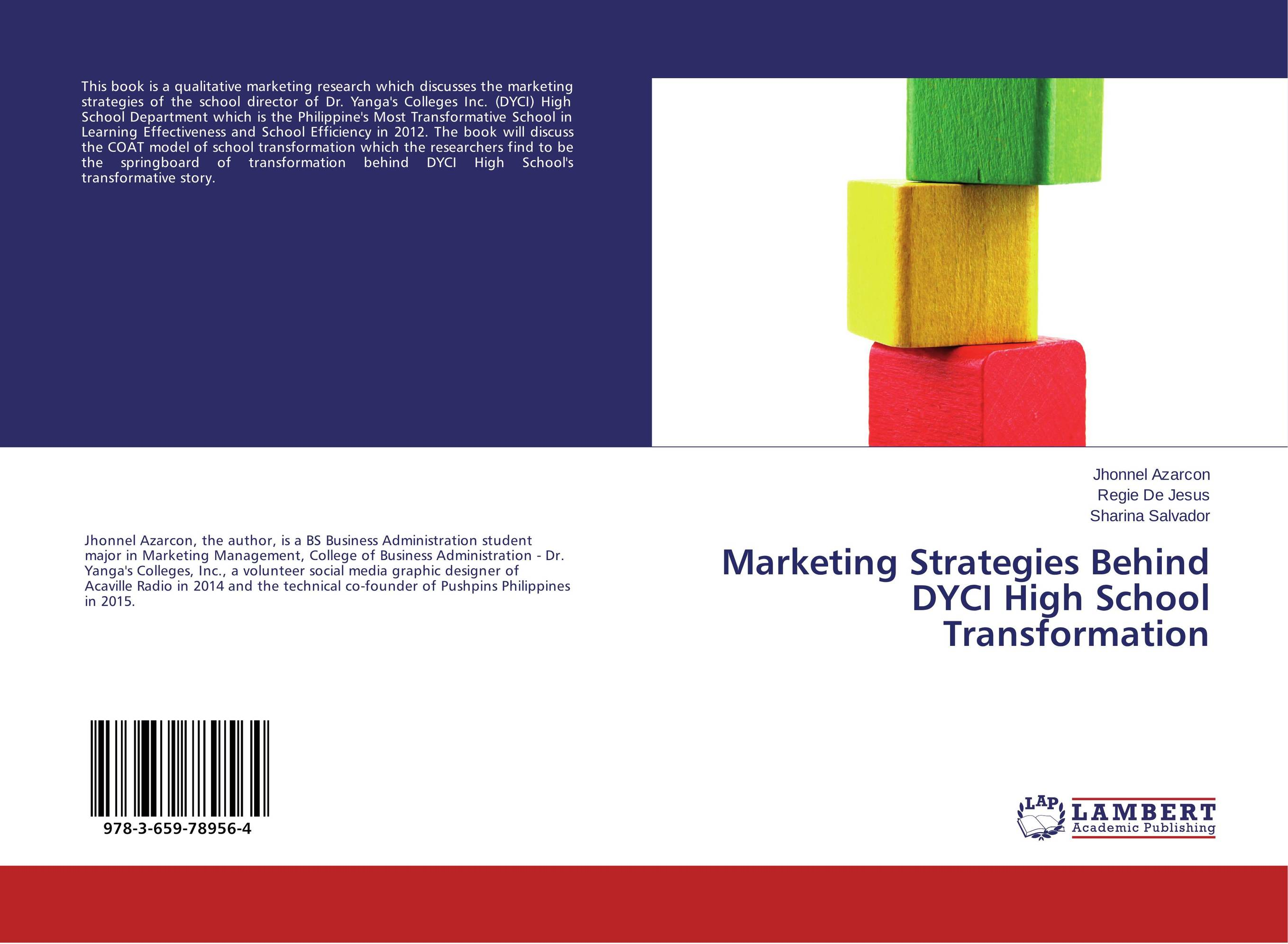 Marketing Strategies Behind DYCI High School Transformation springboard