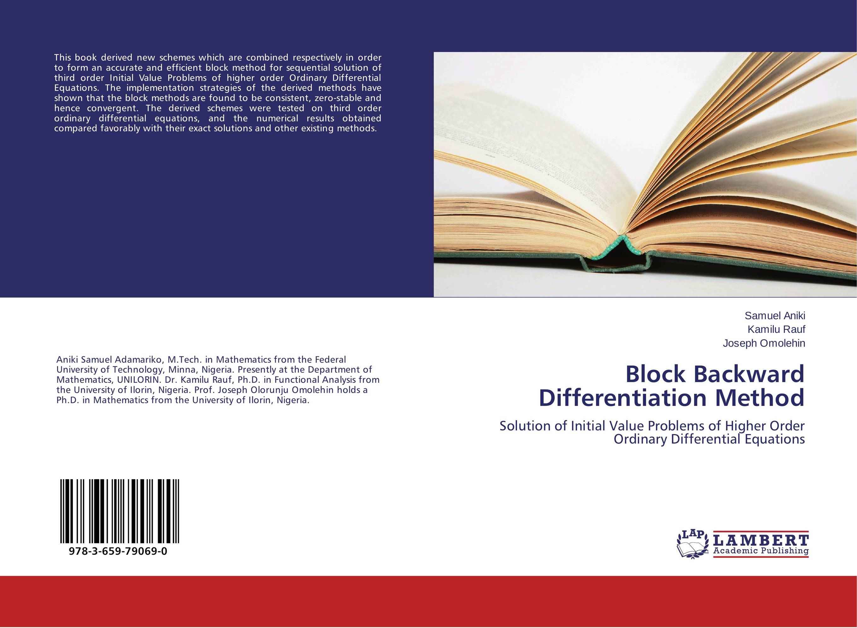 Block Backward Differentiation Method evolutionary stable strategies