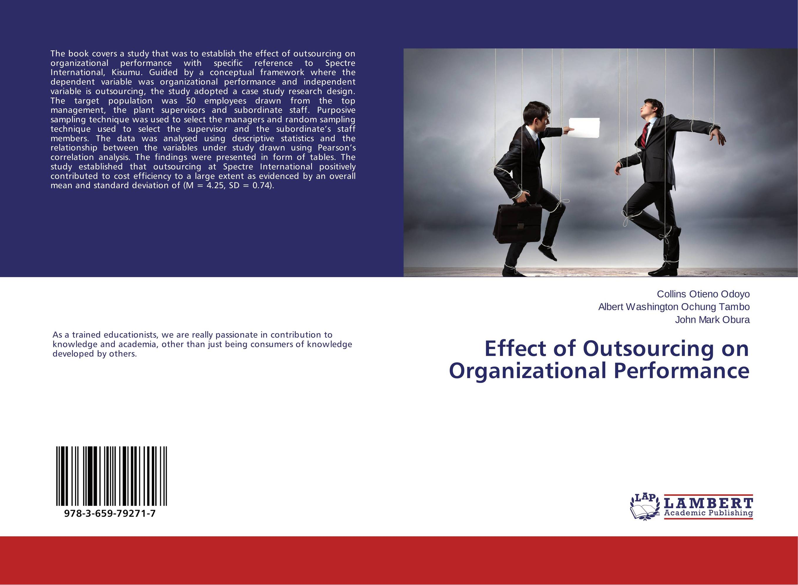 Effect of Outsourcing on Organizational Performance
