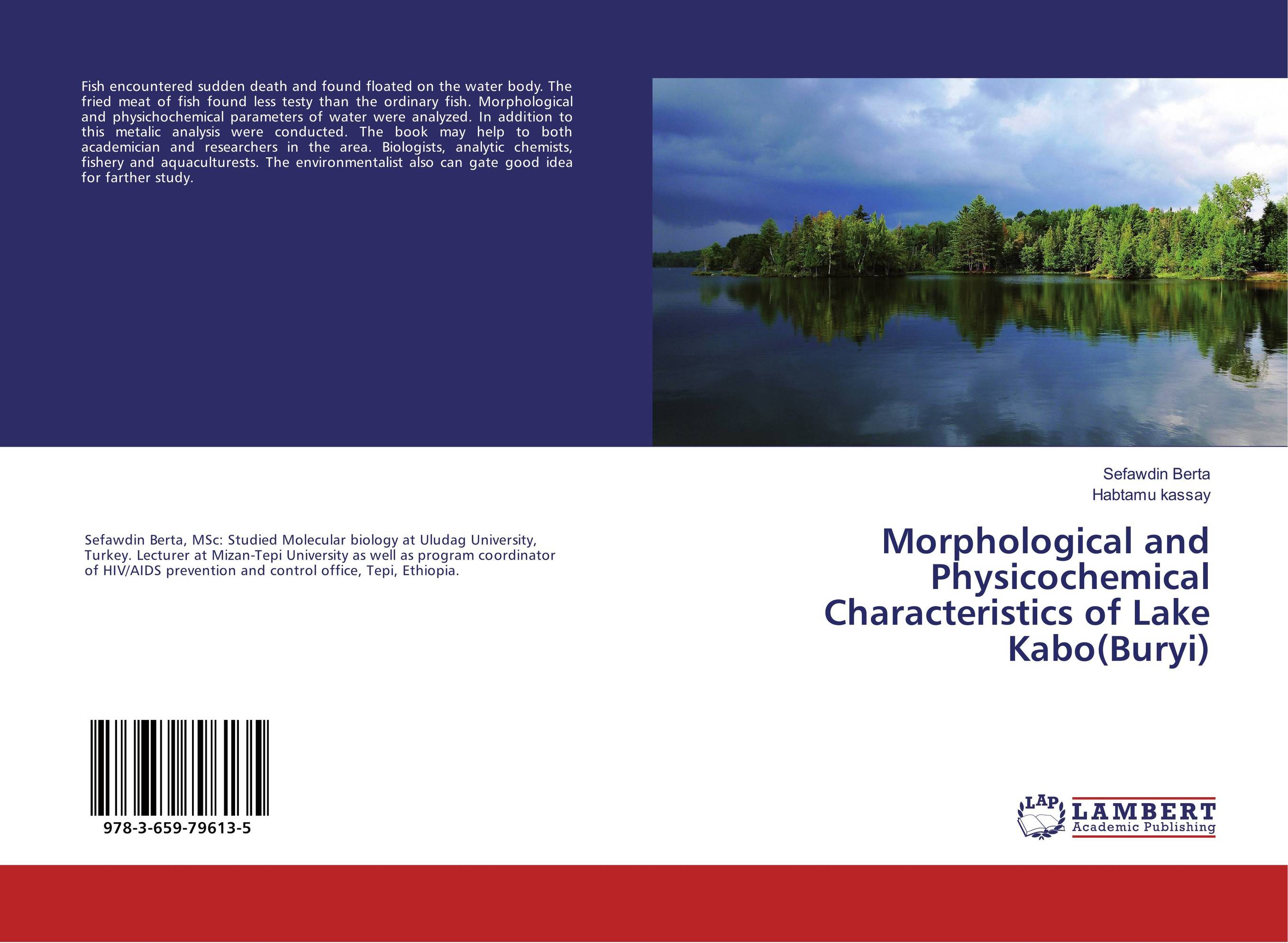 Morphological and Physicochemical Characteristics of Lake Kabo(Buryi) found in brooklyn