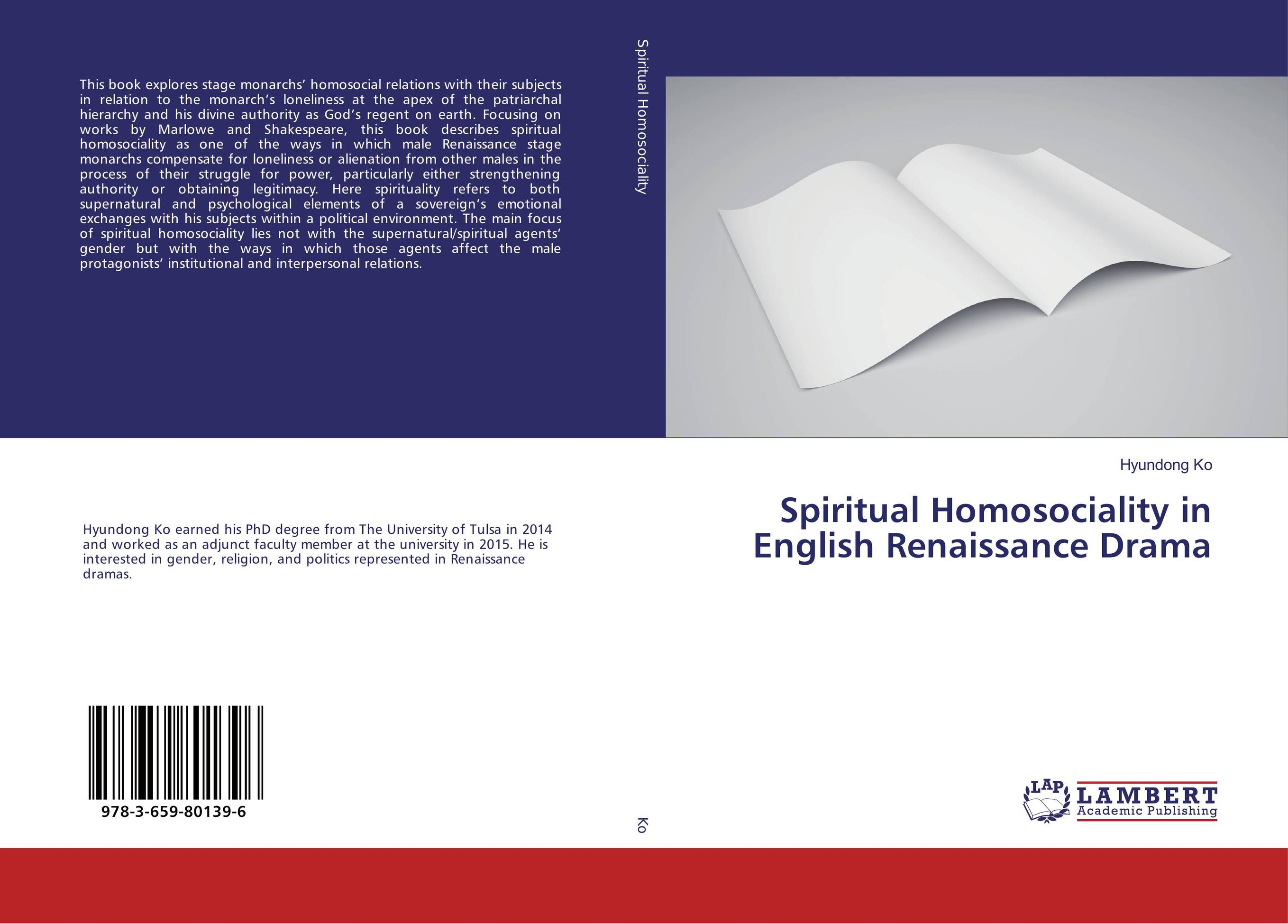 Spiritual Homosociality in English Renaissance Drama j habermas observations on the spiritual situation of the age paper