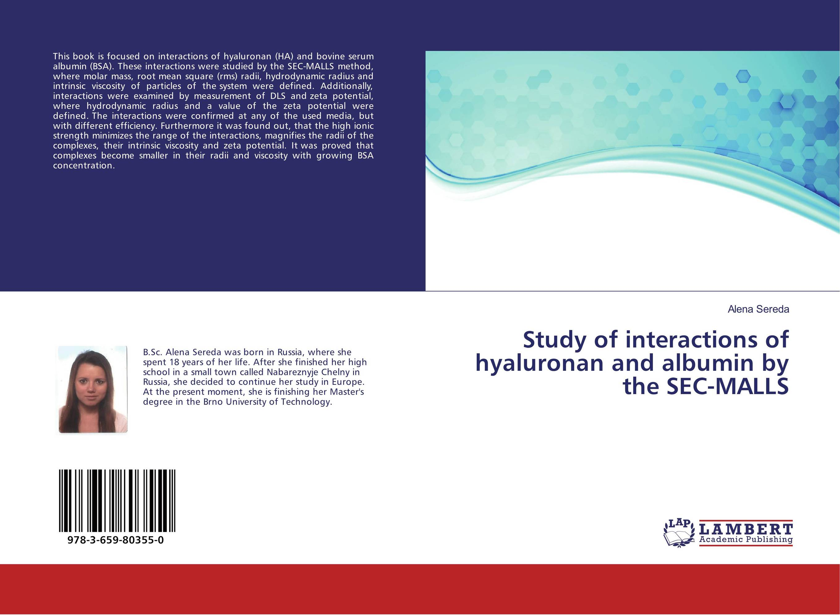 Study of interactions of hyaluronan and albumin by the SEC-MALLS root and canal morphology of third molar