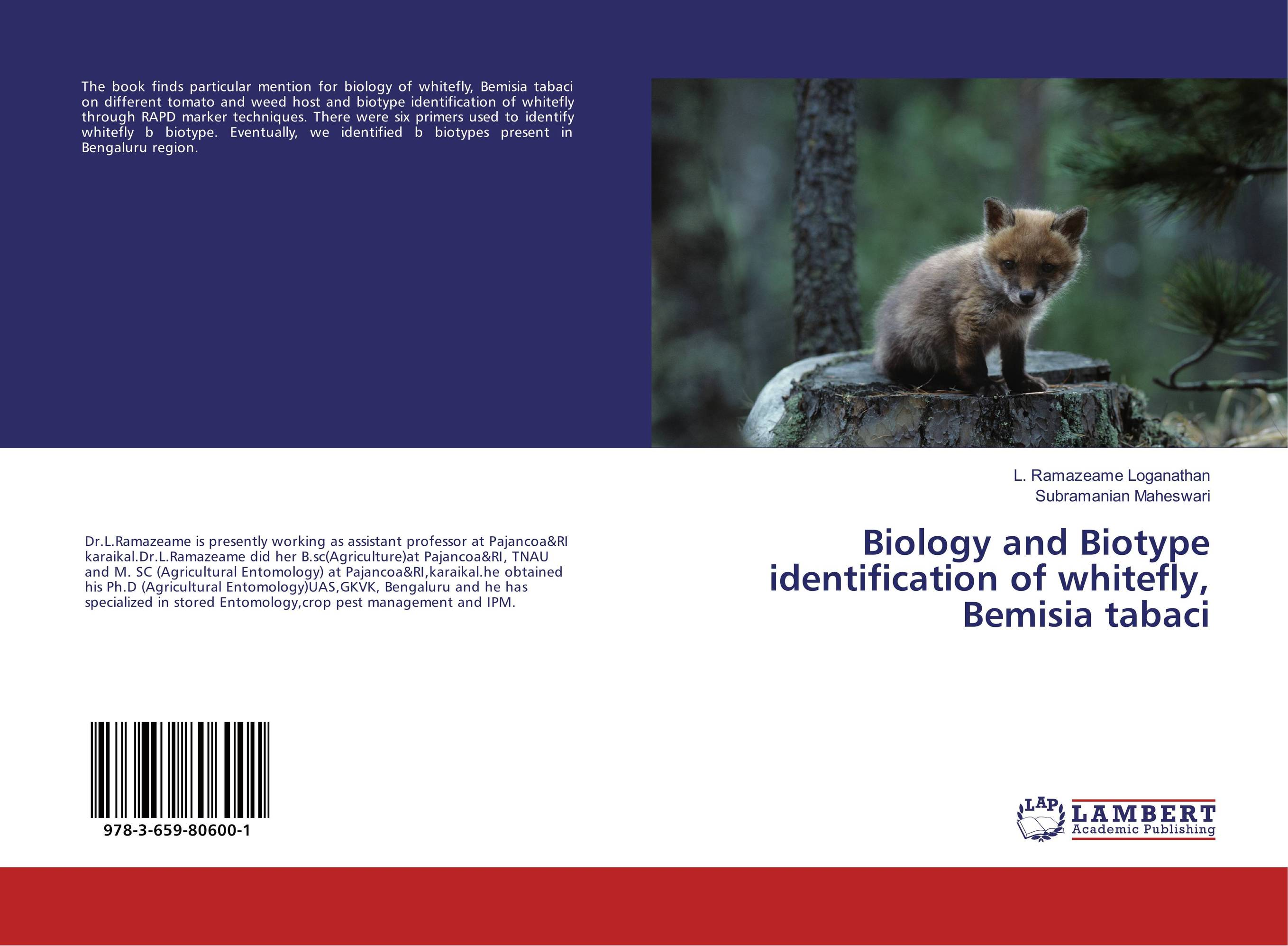 Biology and Biotype identification of whitefly, Bemisia tabaci ashish patel jyotsna choubey and m k verma identification