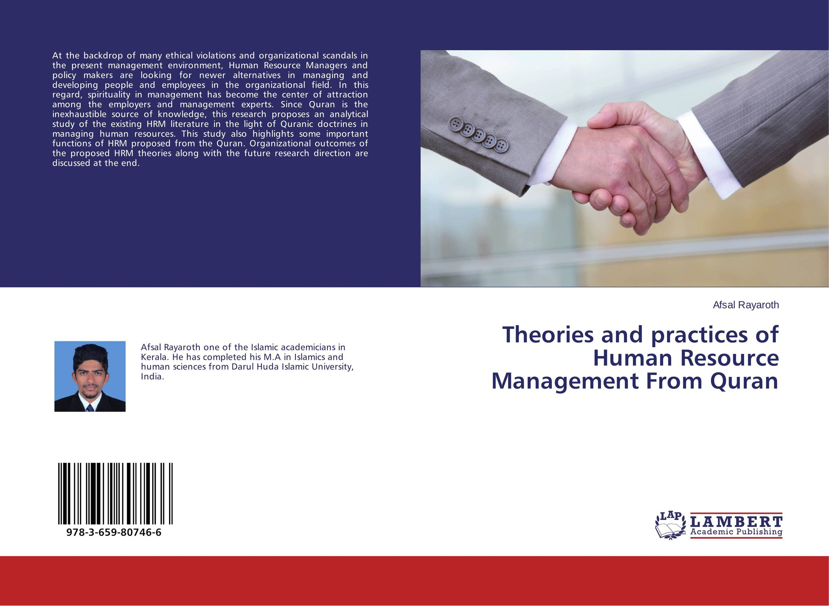 Theories and practices of Human Resource Management From Quran john yaw akparep human resource management among ngos