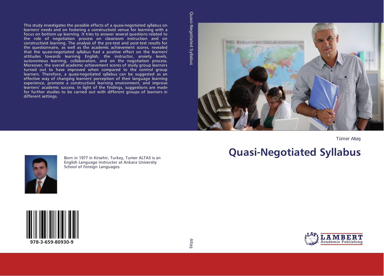 Quasi-Negotiated Syllabus