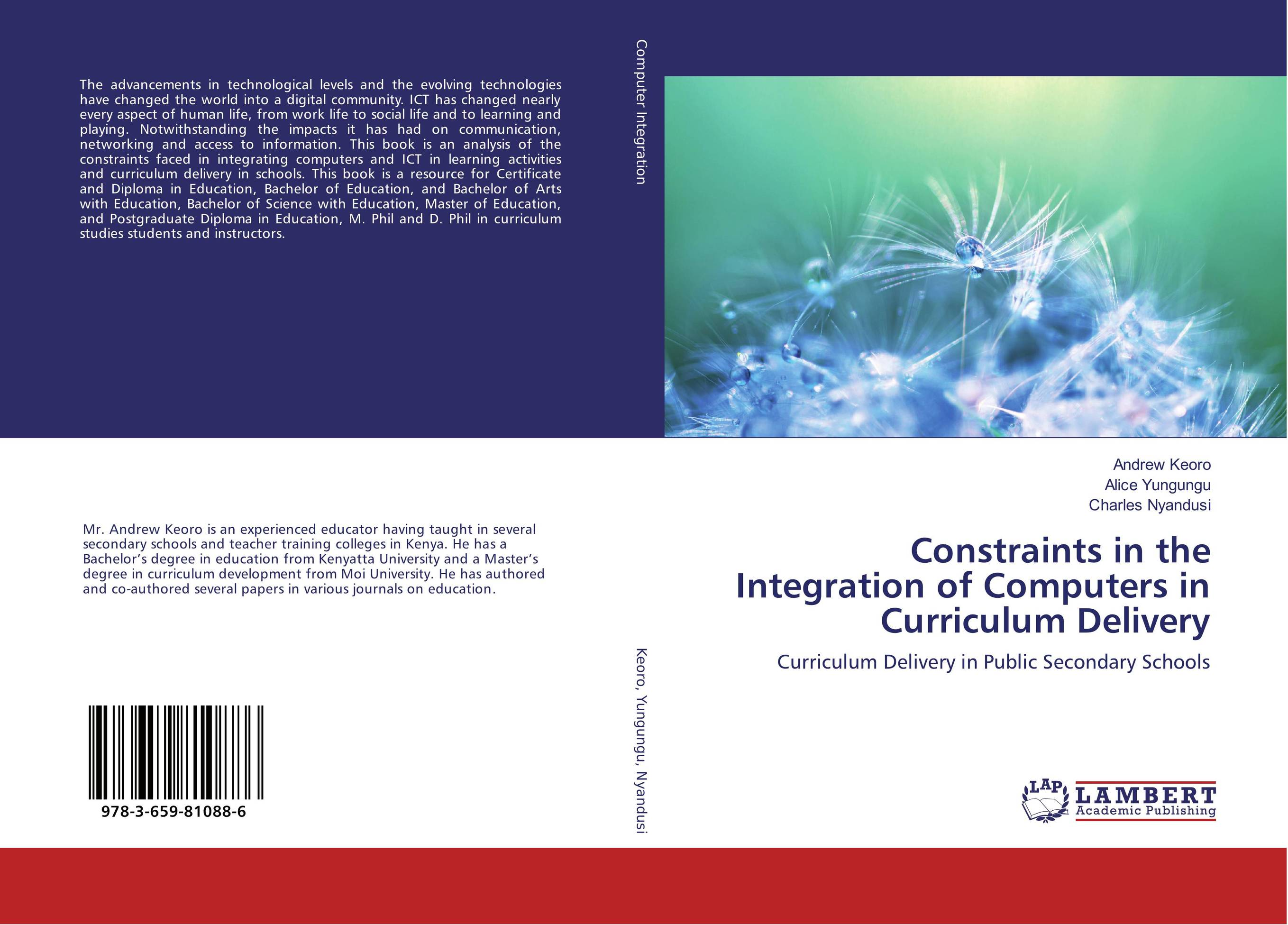 Constraints in the Integration of Computers in Curriculum Delivery elite science education arts of the new millennium