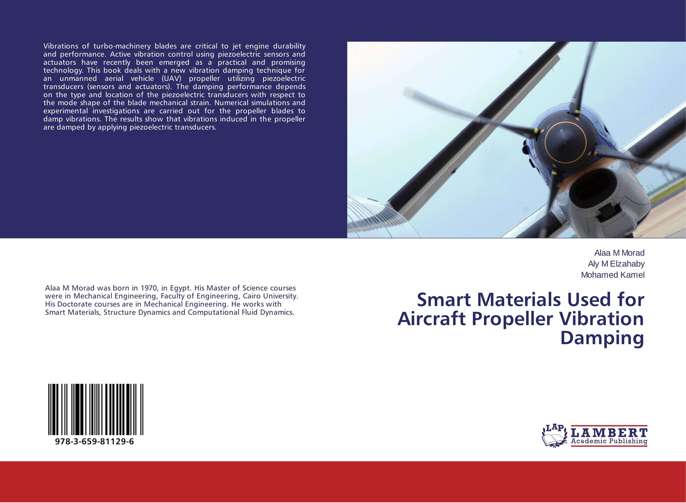 Smart Materials Used for Aircraft Propeller Vibration Damping