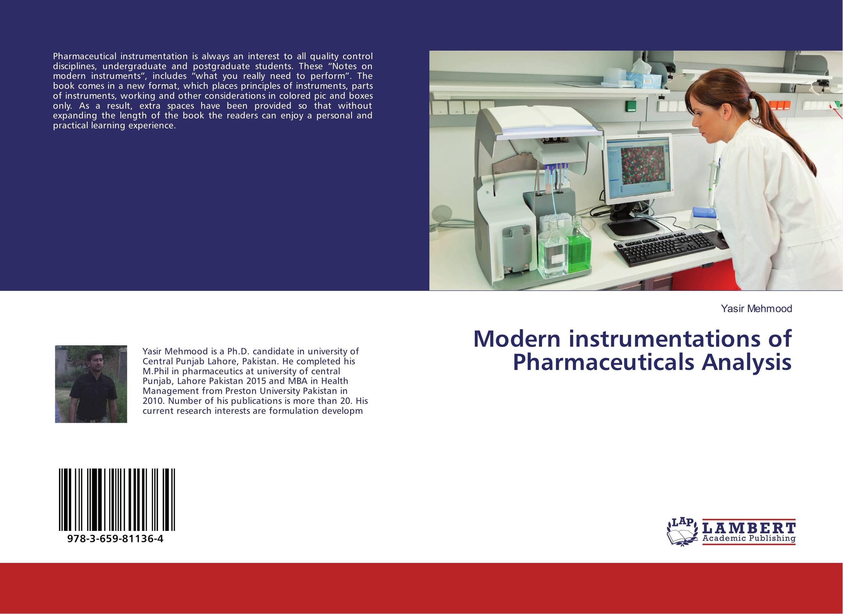 Modern instrumentations of Pharmaceuticals Analysis pharmaceuticals