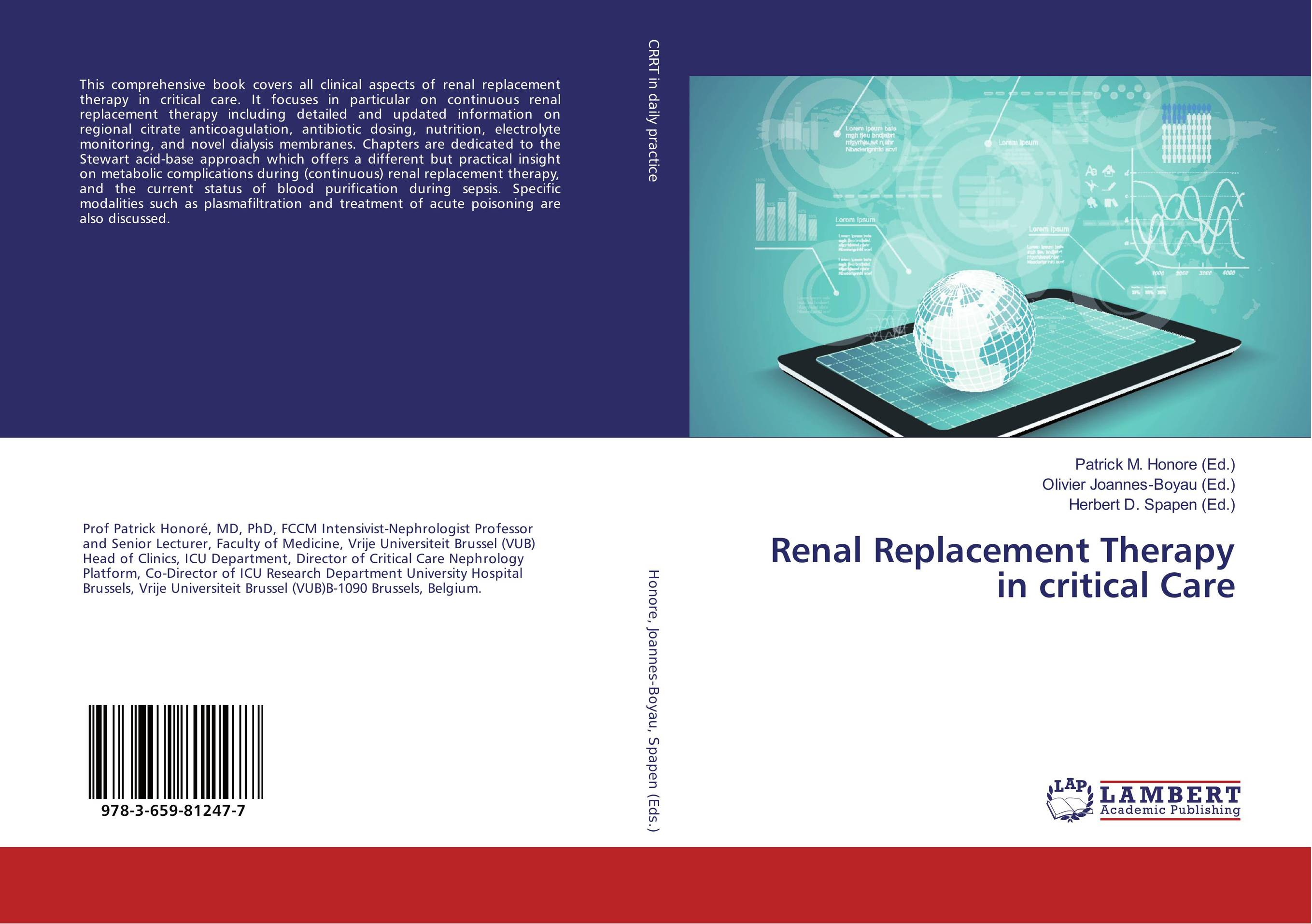 Renal Replacement Therapy in critical Care