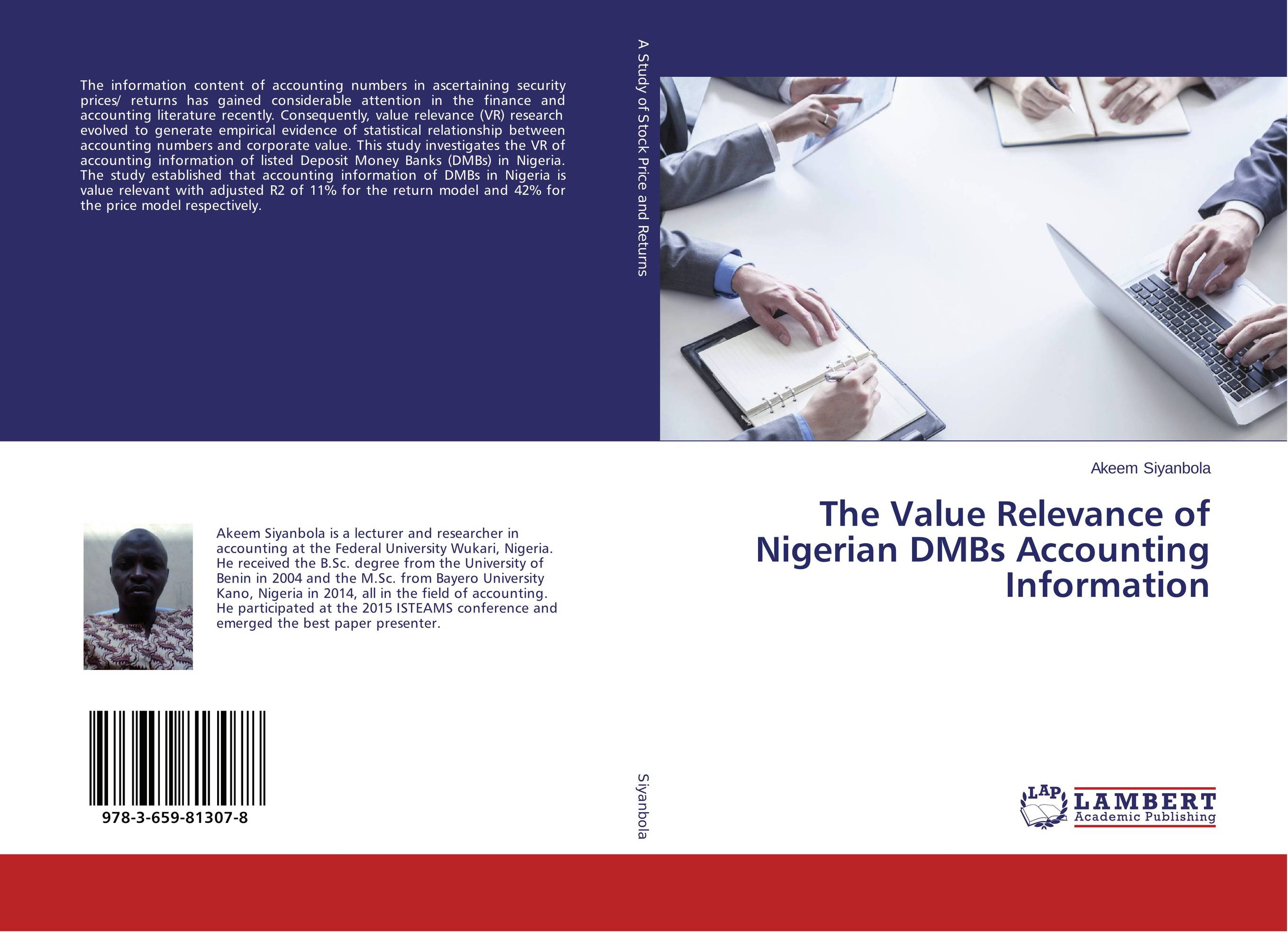 The Value Relevance of Nigerian DMBs Accounting Information the role of accounting information and the relevance of ifrs