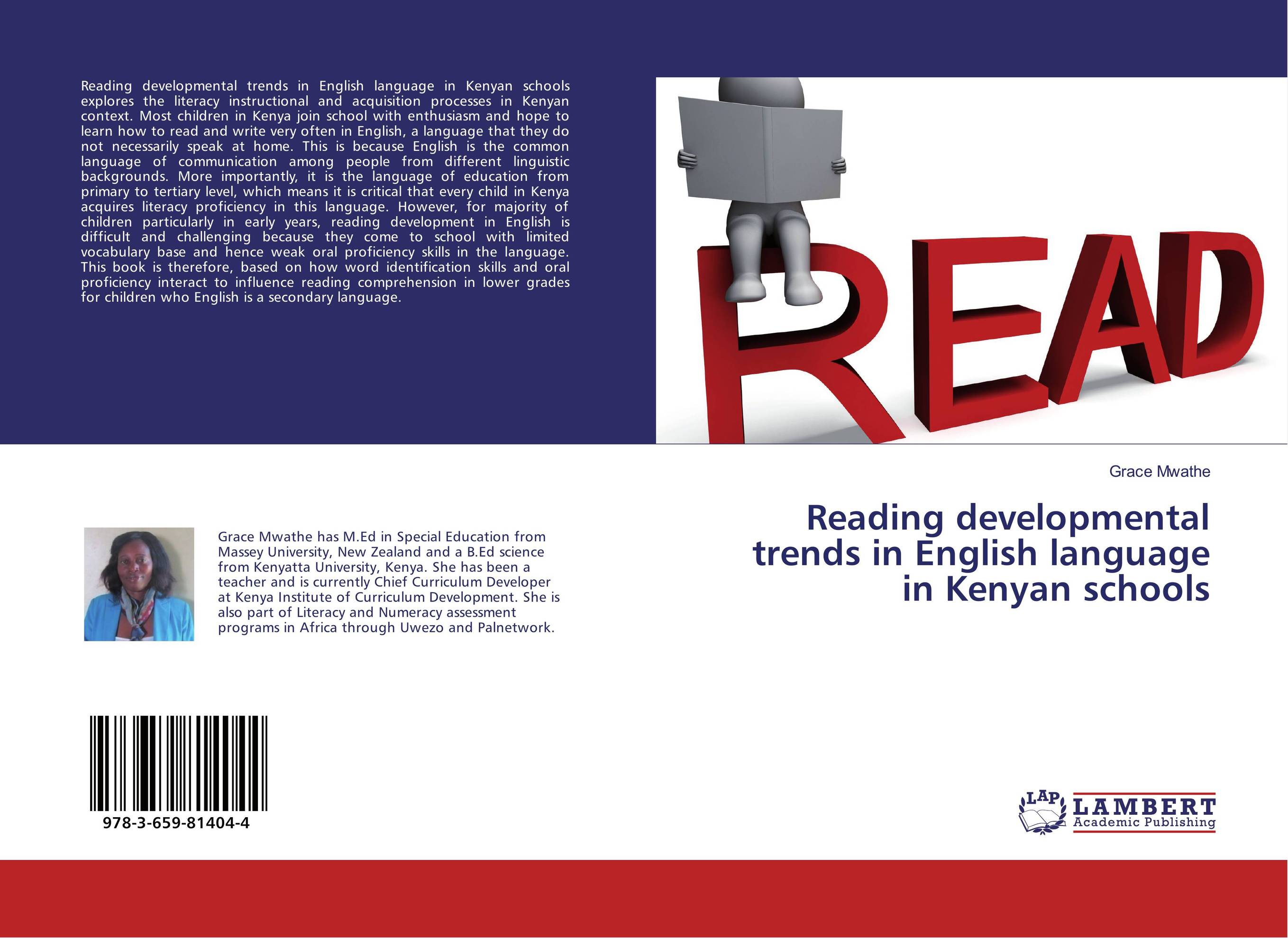 Reading developmental trends in English language in Kenyan schools reading literacy for adolescents