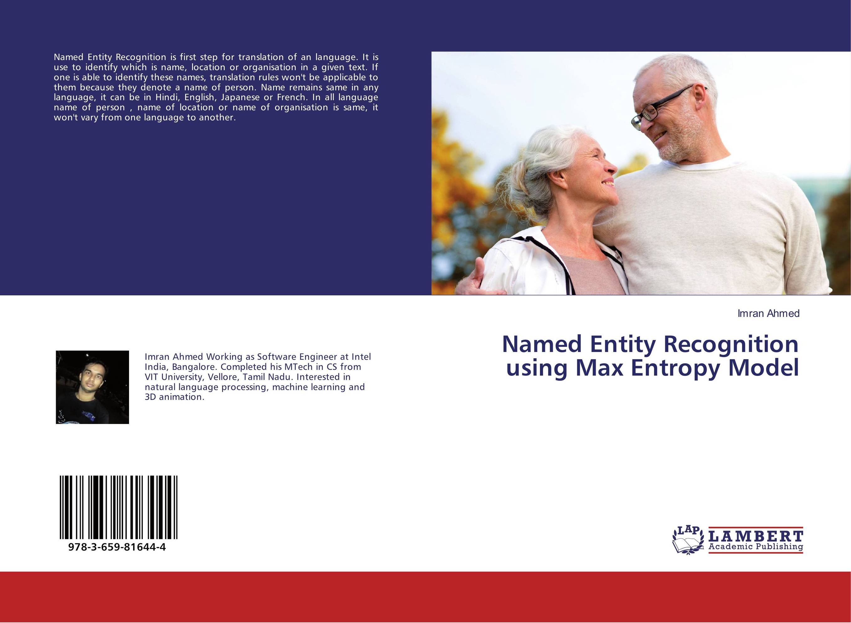 Named Entity Recognition using Max Entropy Model engelbert what s in a name