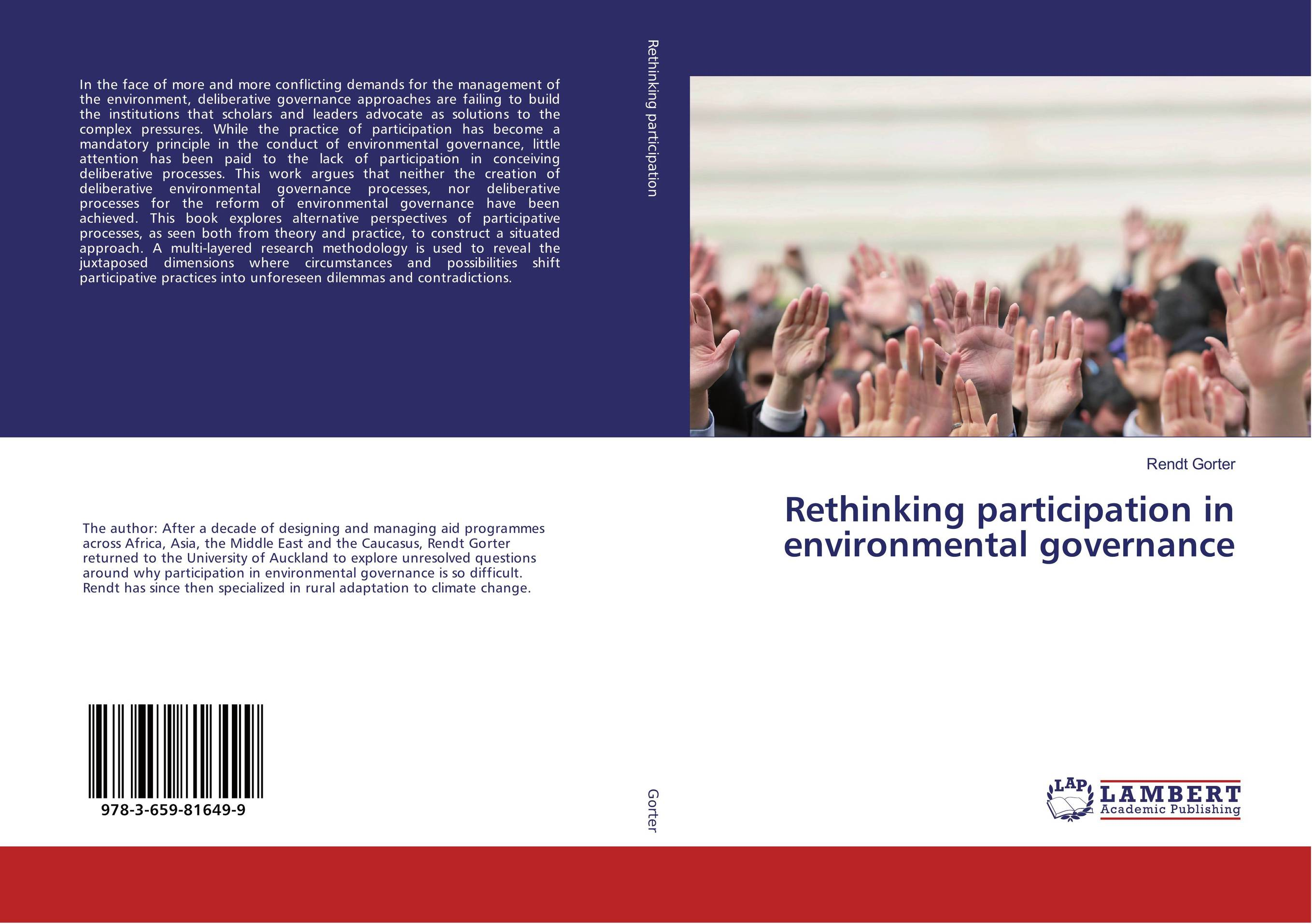 Rethinking participation in environmental governance robert moeller r executive s guide to it governance improving systems processes with service management cobit and itil