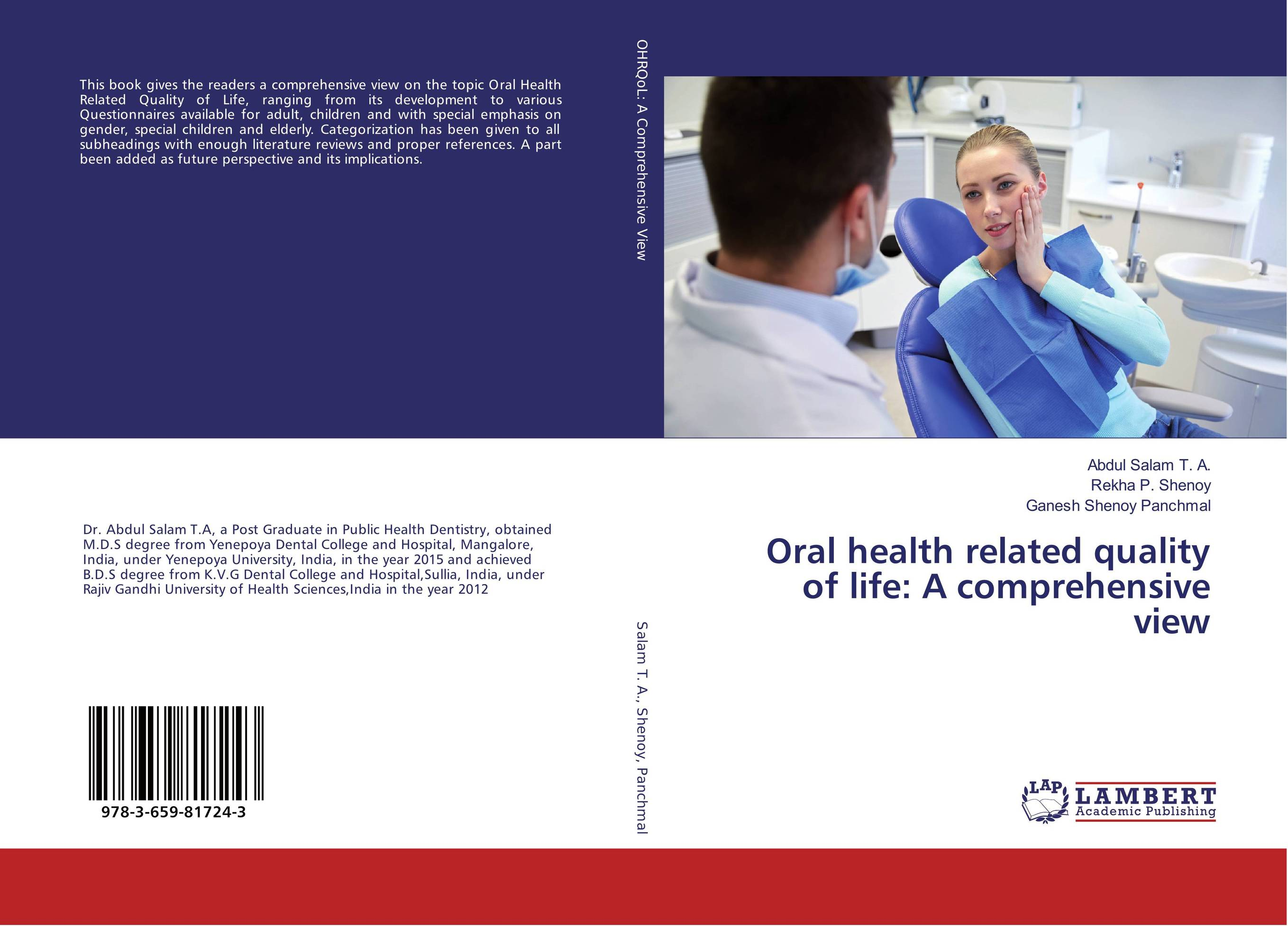 Oral health related quality of life: A comprehensive view ladusingh rajpurohit nishant mehta and rahul anand oral health a mirror to quality of life
