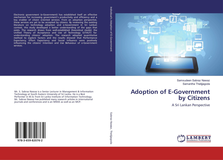 Adoption of E-Government by Citizens adoption of e government by citizens