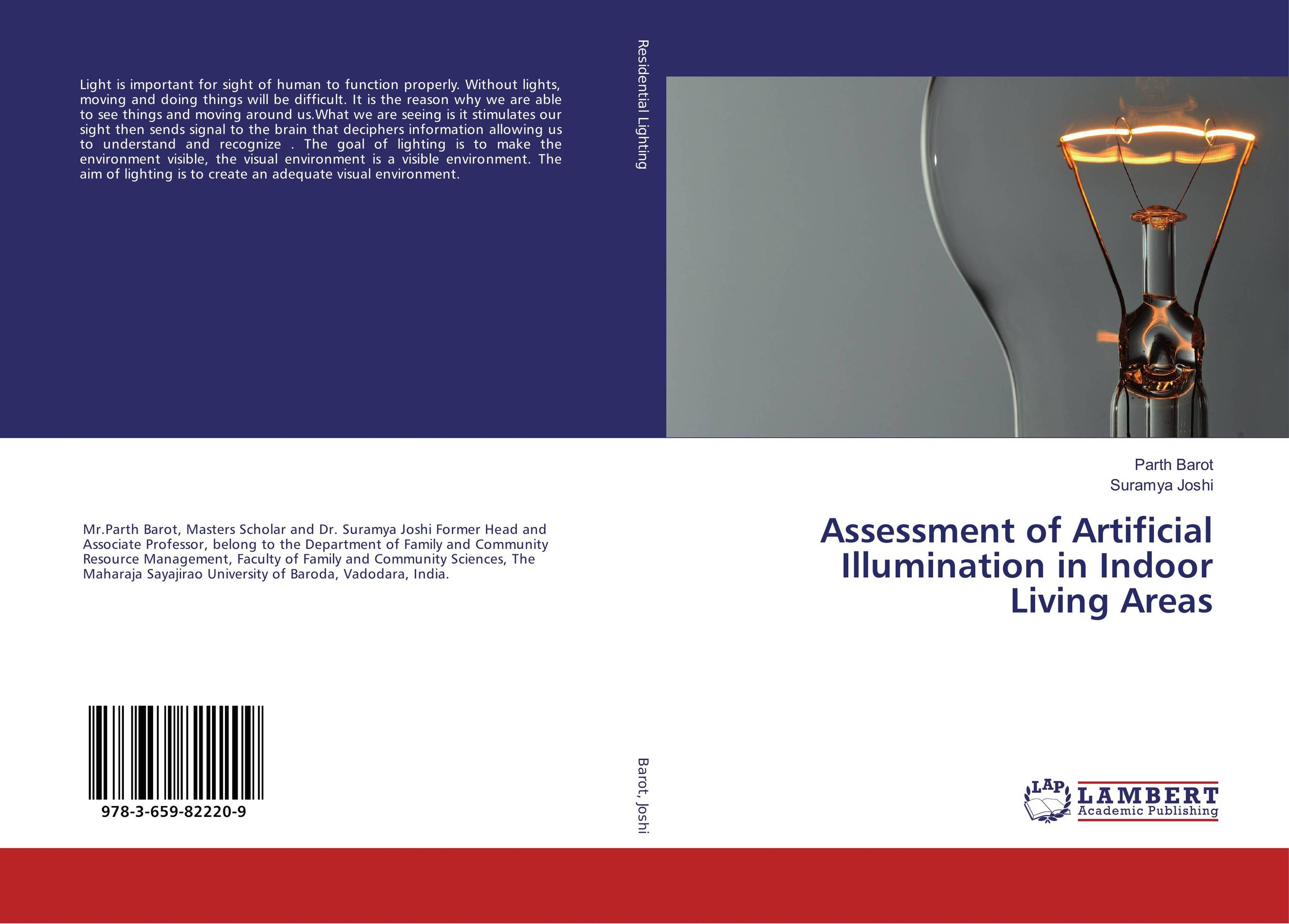 Assessment of Artificial Illumination in Indoor Living Areas
