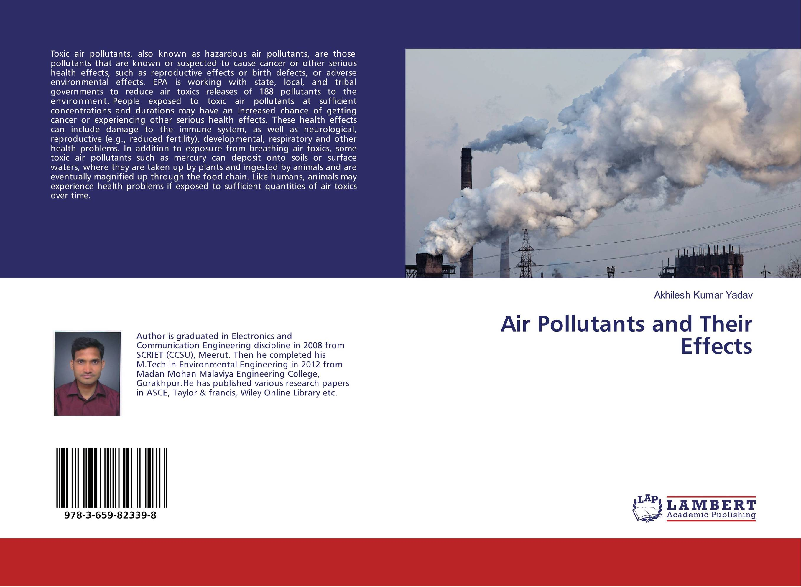 Air Pollutants and Their Effects effect of air pollutants on some common plants