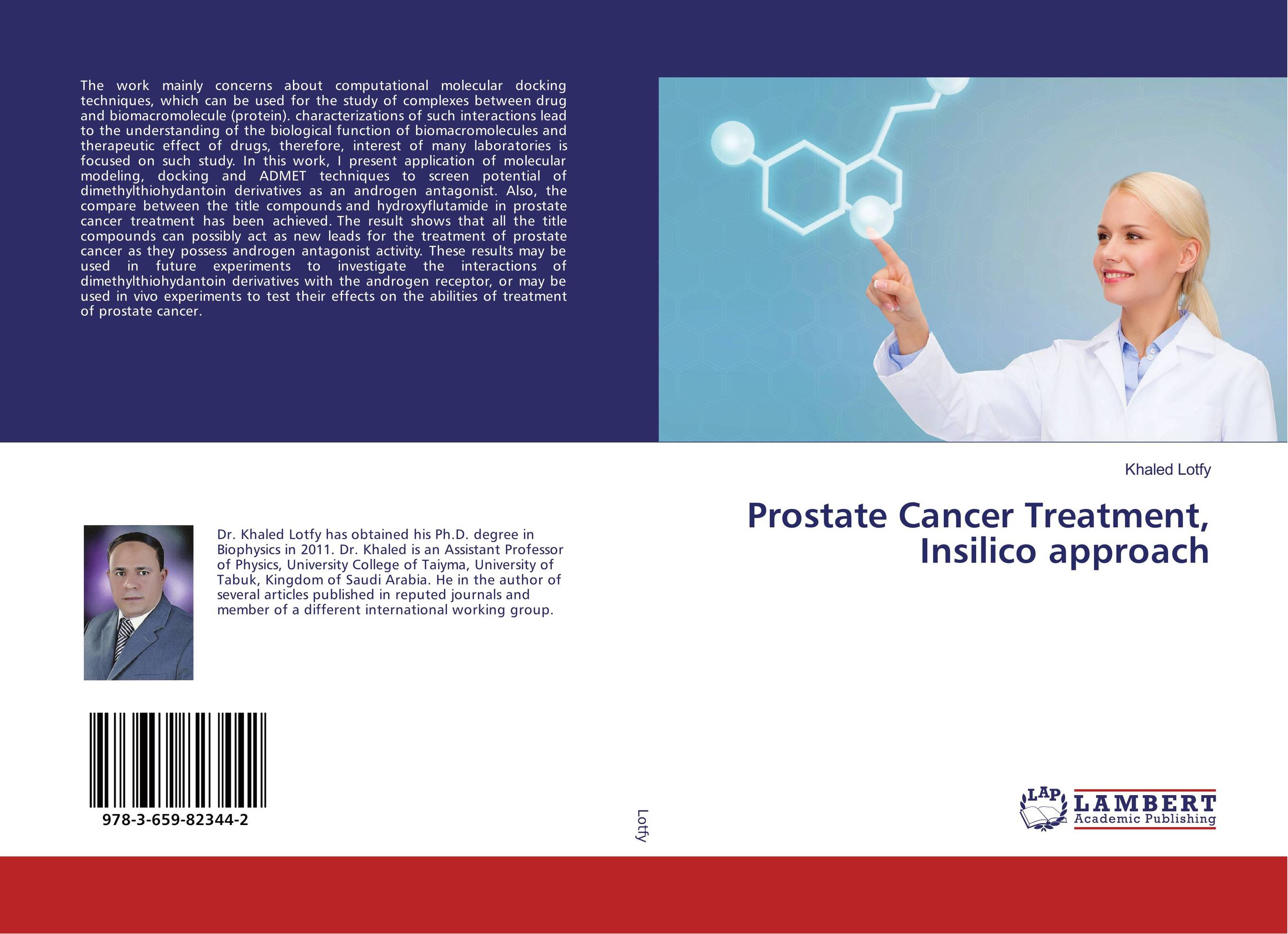 Prostate Cancer Treatment, Insilico approach naturalcure cure prostatitis caps ules cure prostate diseases relieve prostate pain and help solve urination problems