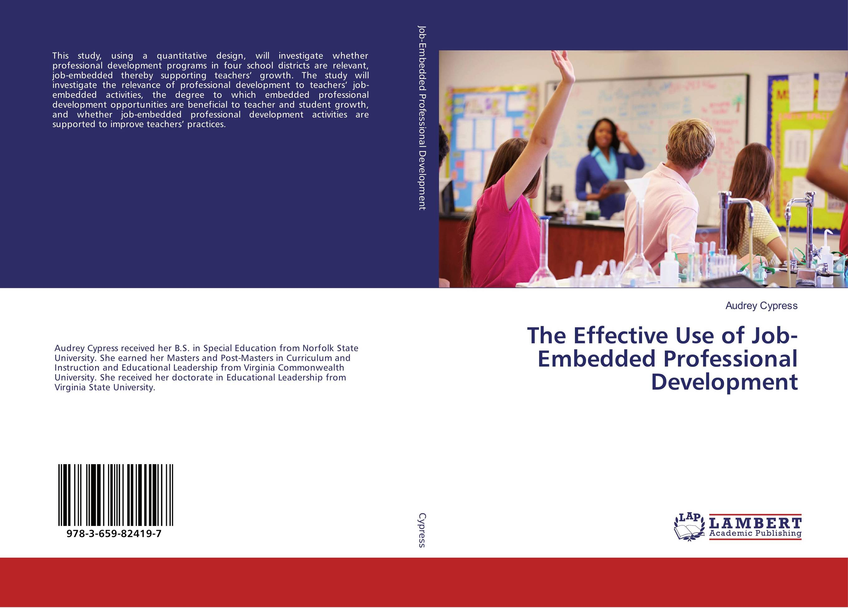 The Effective Use of Job-Embedded Professional Development teachers qualification and professional development in nigeria
