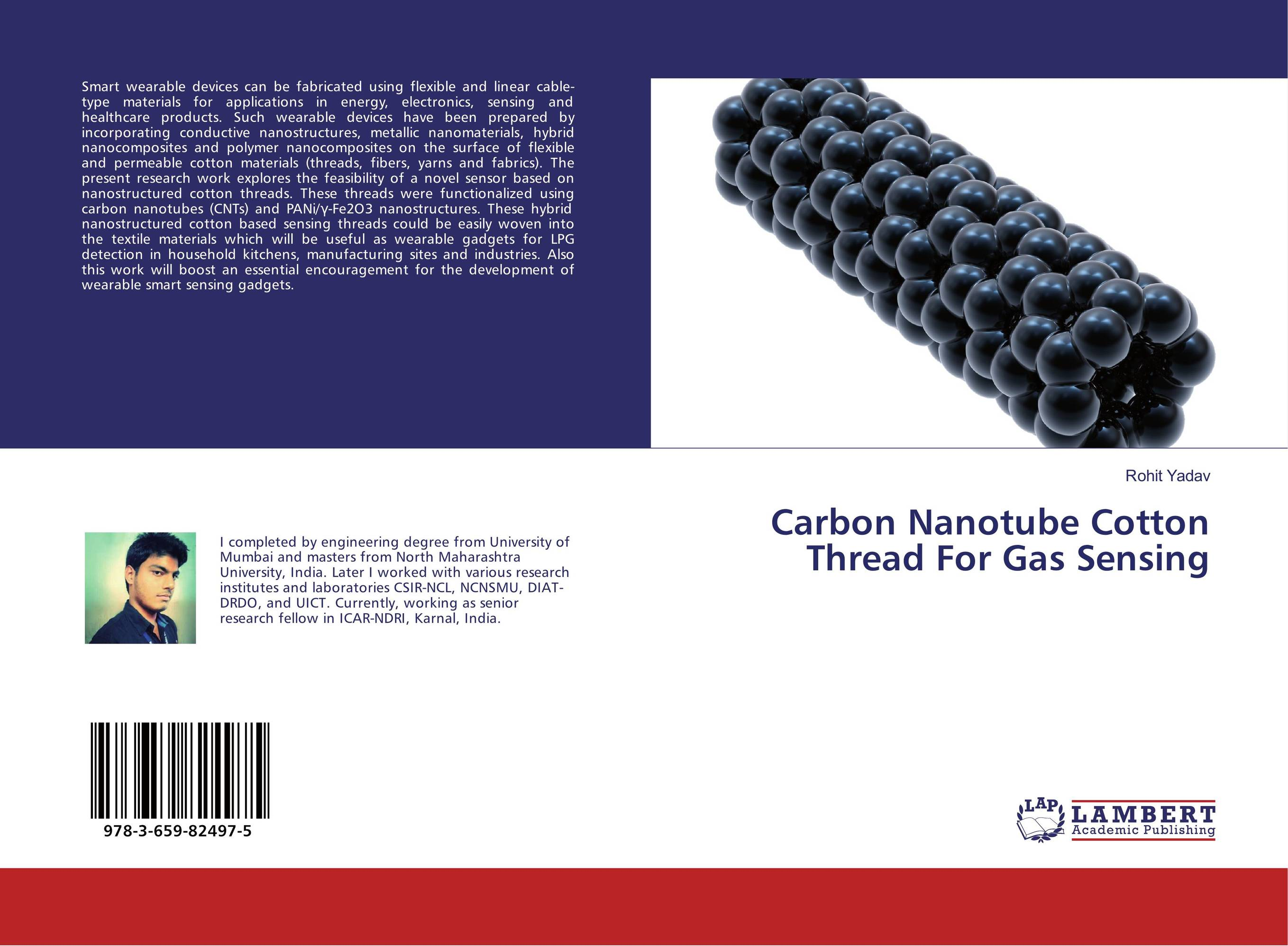 Carbon Nanotube Cotton Thread For Gas Sensing mohamed henini handbook of self assembled semiconductor nanostructures for novel devices in photonics and electronics