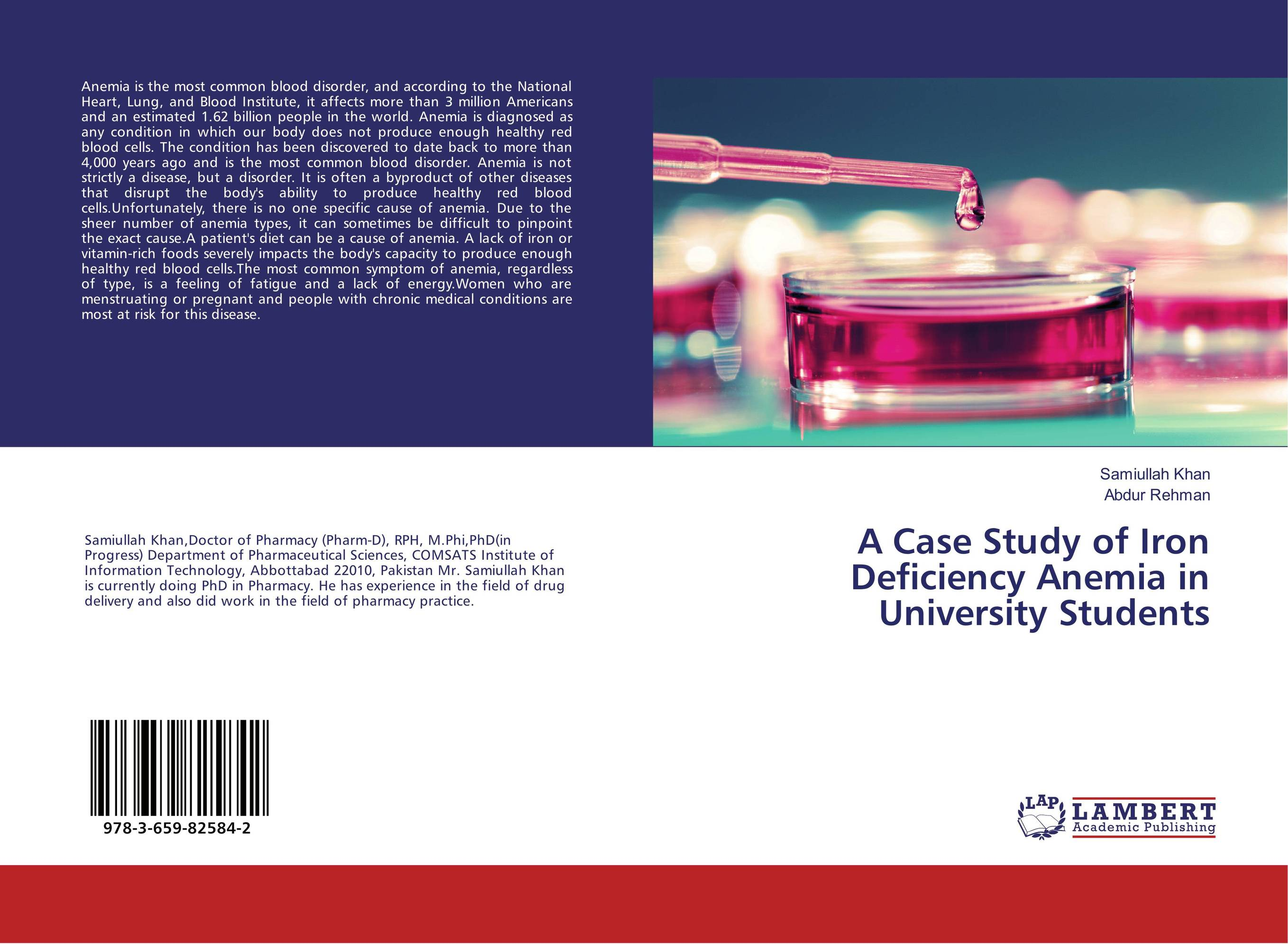 A Case Study of Iron Deficiency Anemia in University Students incidence of iron deficiency anemia in day scholar university girls