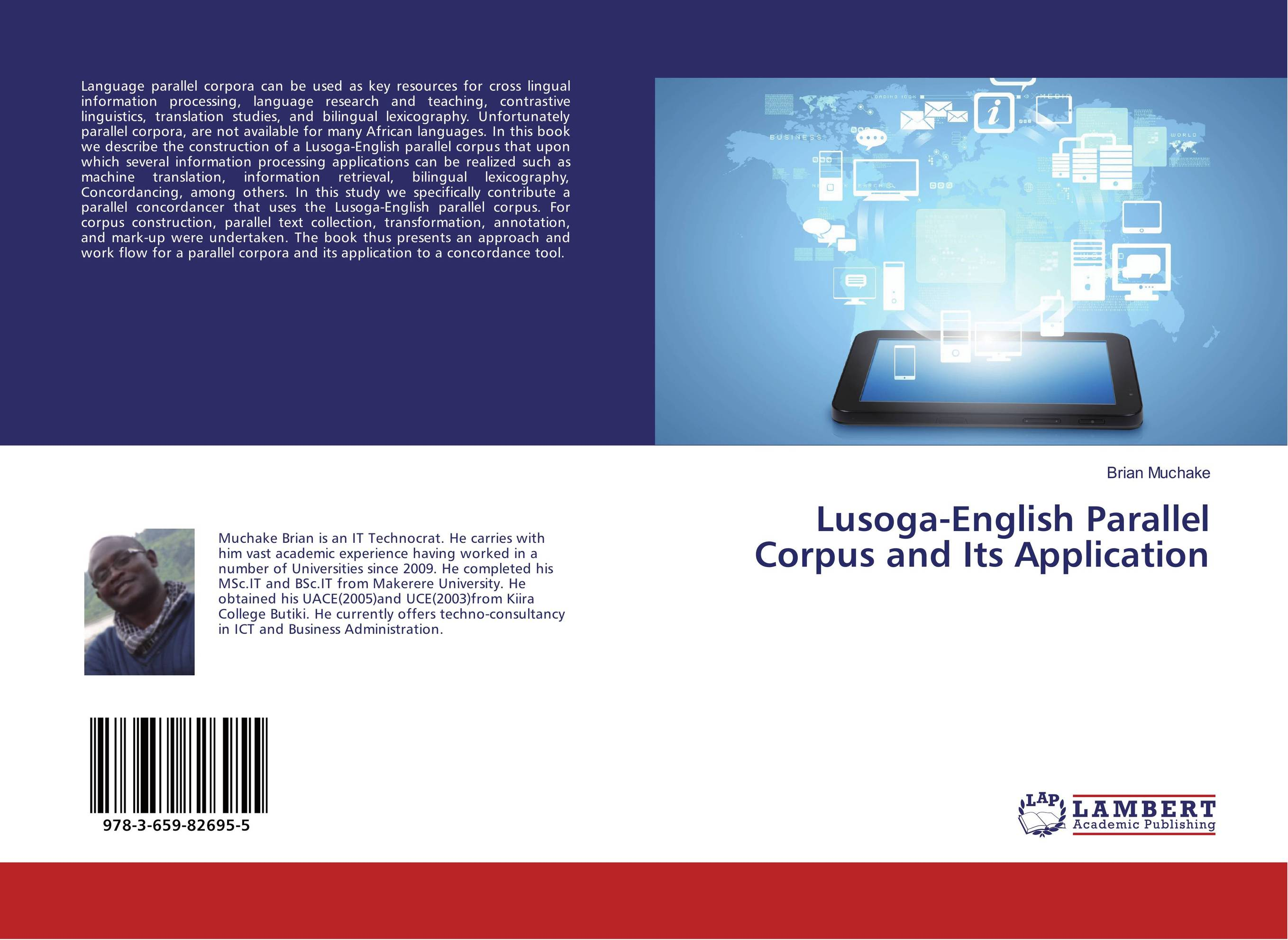 Lusoga-English Parallel Corpus and Its Application ноутбук hp 15 bs079ur 1vh74ea intel core i3 6006u 2 0 ghz 4096mb 1000gb dvd rw amd radeon 520 2048mb wi fi cam 15 6 1920x1080 dos