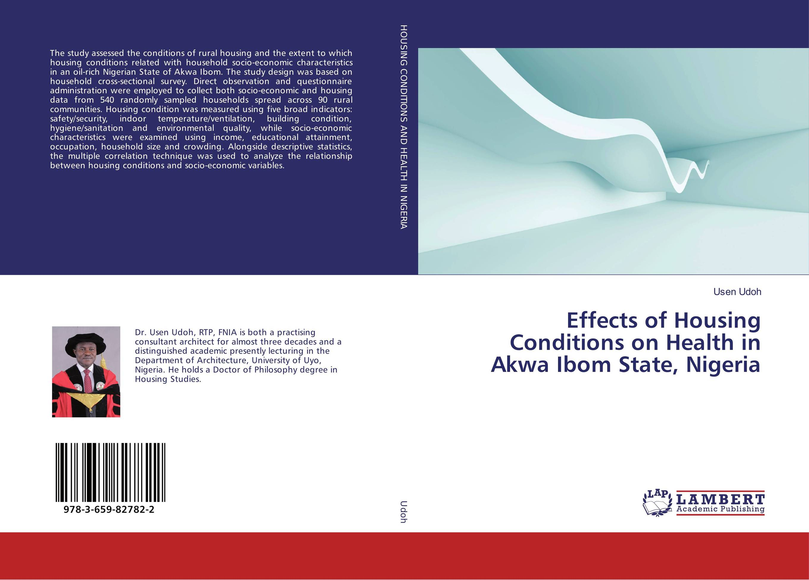 Effects of Housing Conditions on Health in Akwa Ibom State, Nigeria gender and socio economic wellbeing of older persons in nigeria