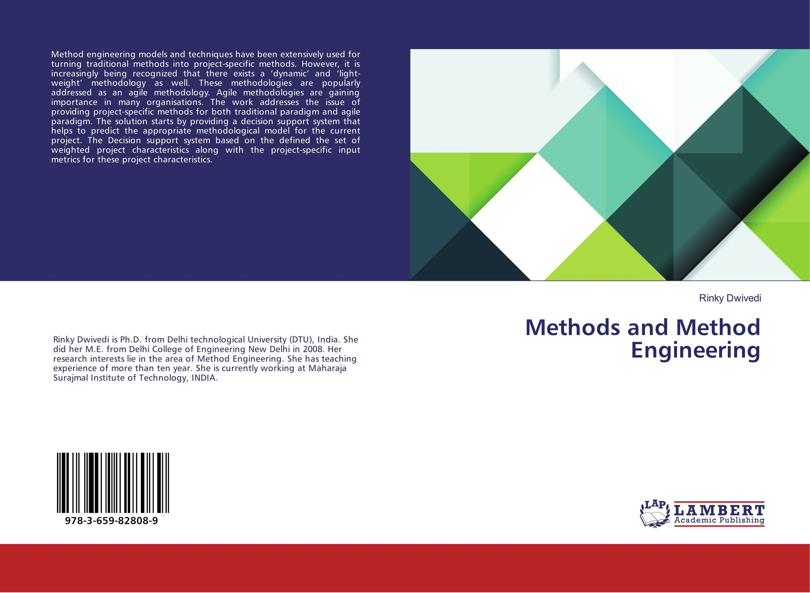 Methods and Method Engineering yuri raydugin project risk management essential methods for project teams and decision makers