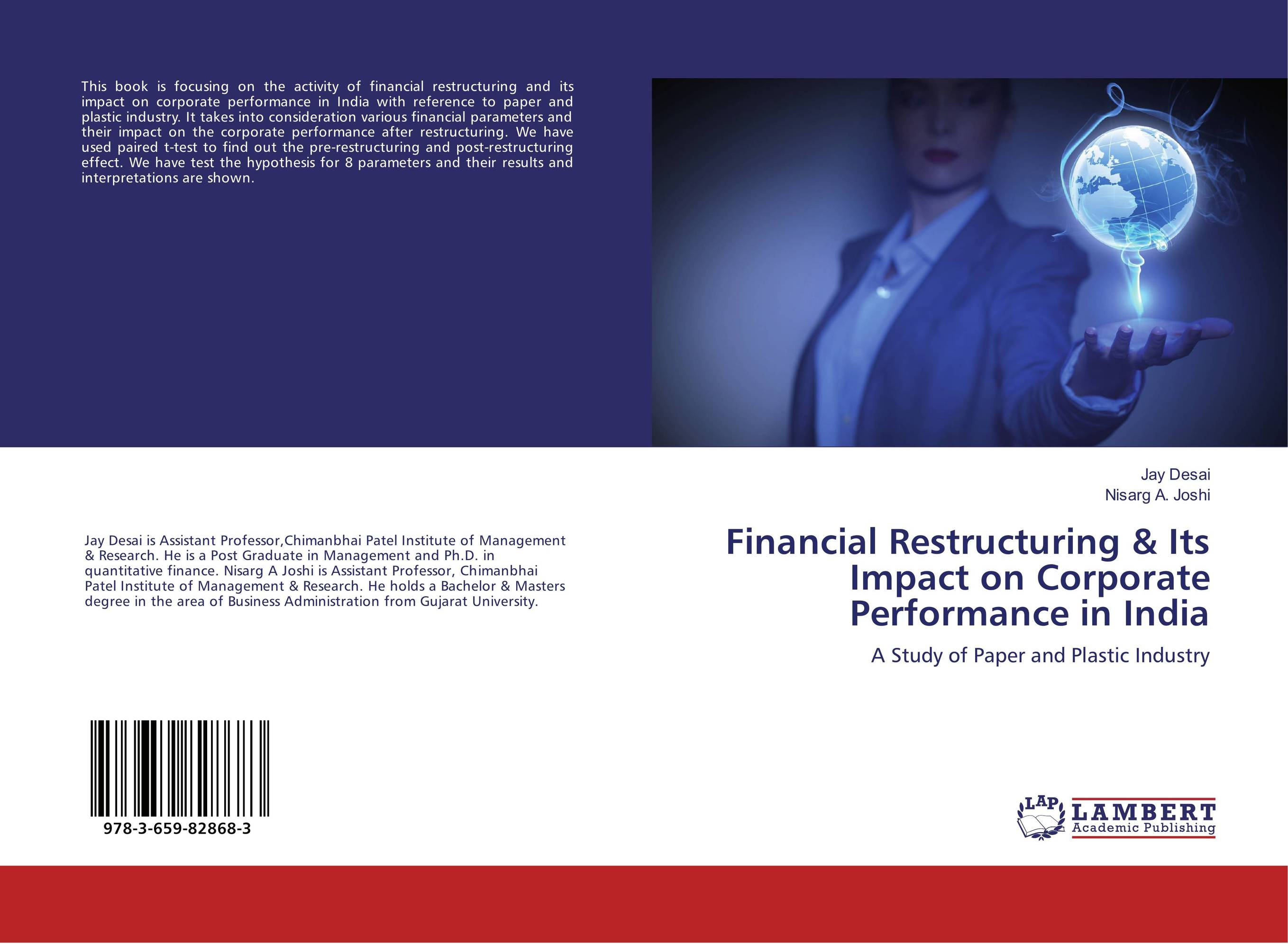 Financial Restructuring & Its Impact on Corporate Performance in India corporate governance and firm value