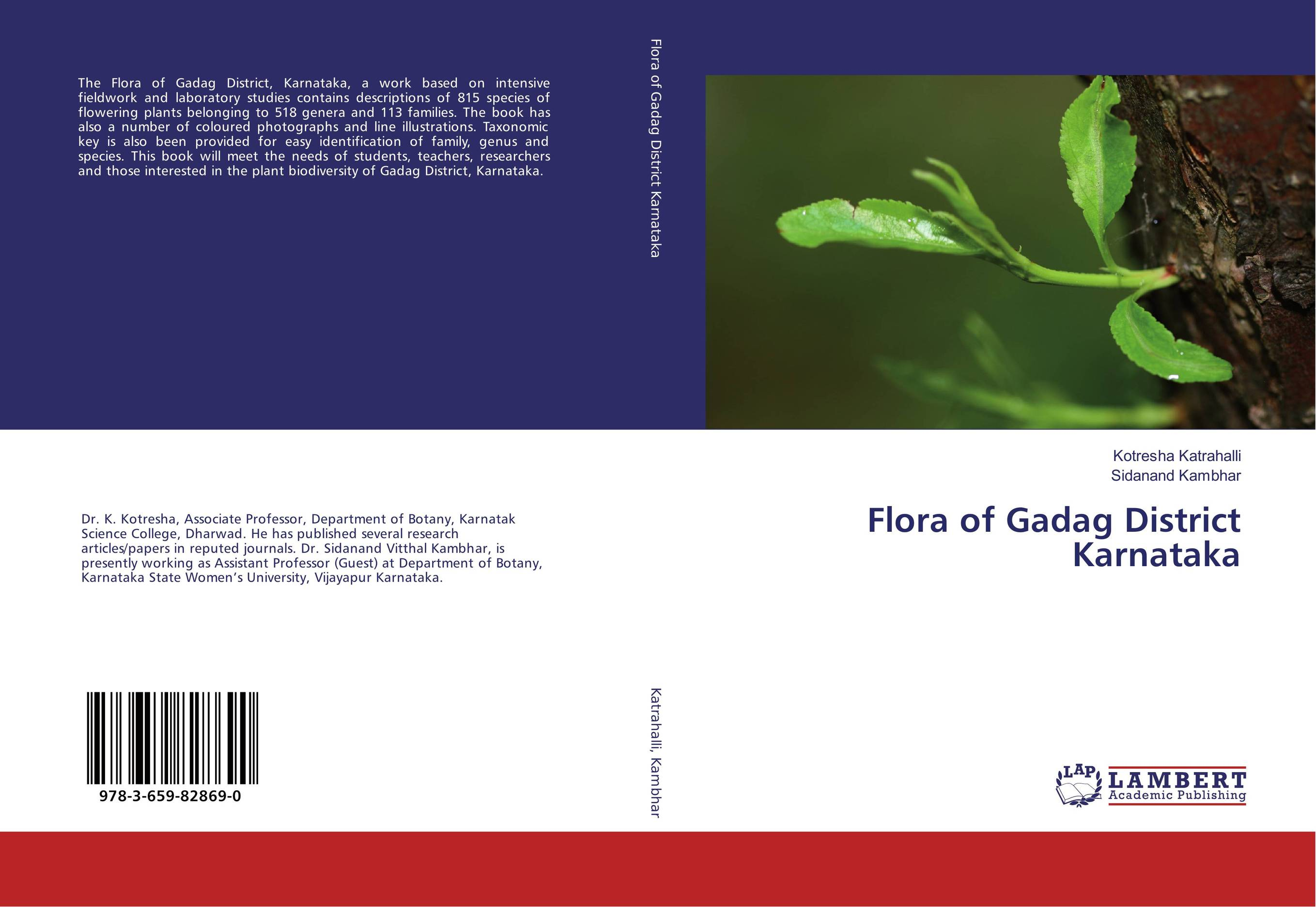 Flora of Gadag District Karnataka anatomical studies on species of subfamily stachyoideae lamiaceae