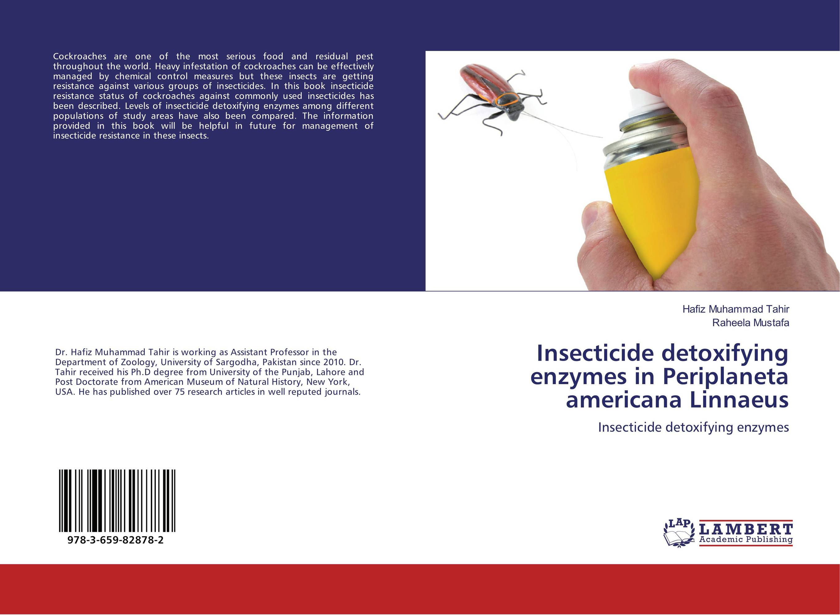 Insecticide detoxifying enzymes in Periplaneta americana Linnaeus resistance study in tomato