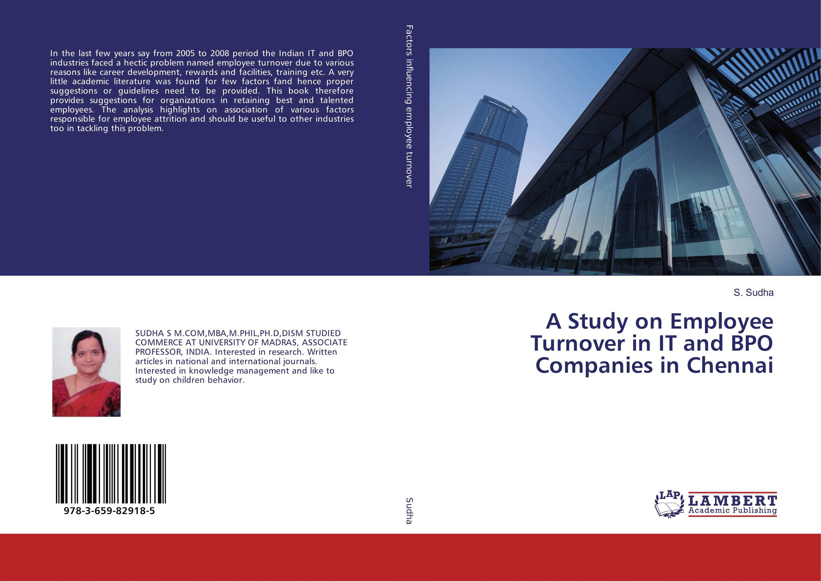 A Study on Employee Turnover in IT and BPO Companies in Chennai impact of training and development on employee turnover