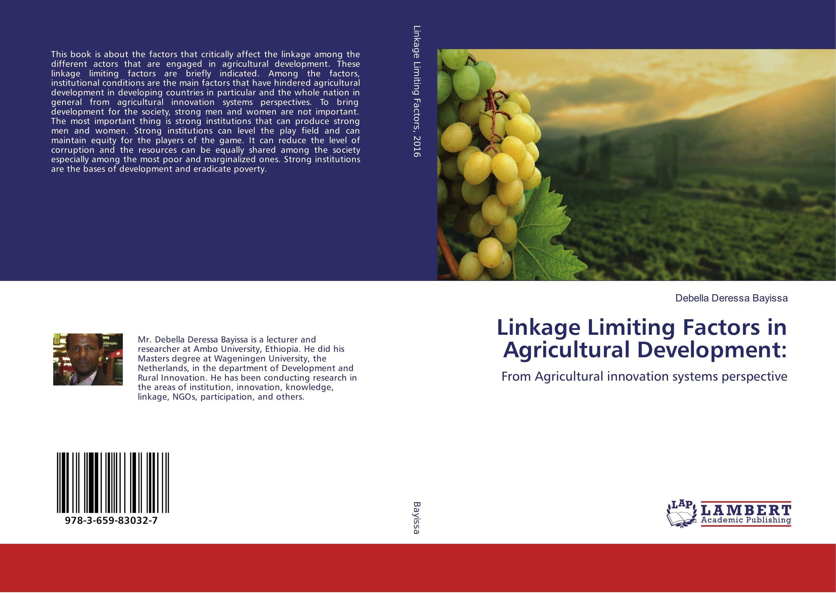 Linkage Limiting Factors in Agricultural Development: the causal factors of dropout among the socio economically backward