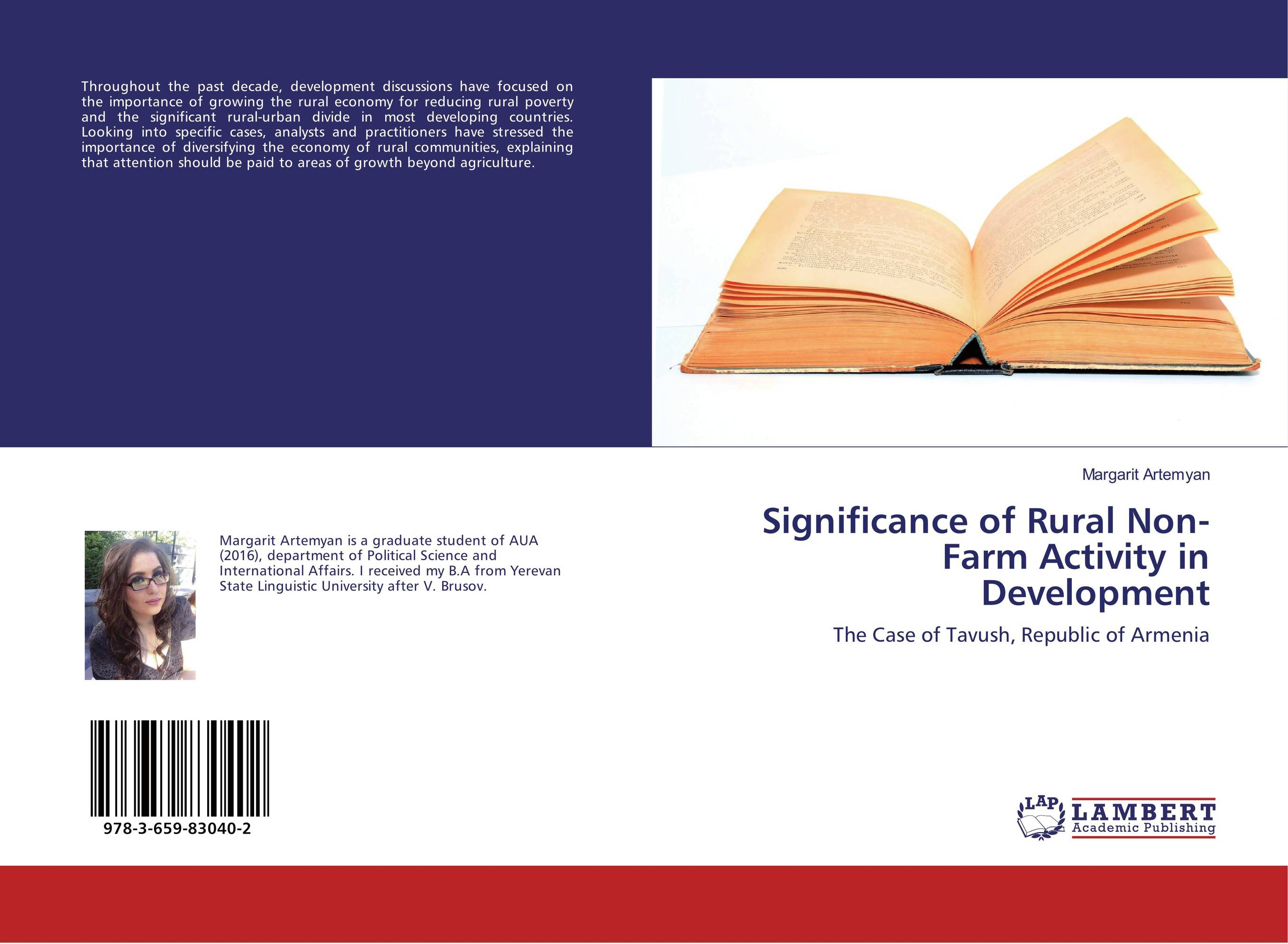 Significance of Rural Non-Farm Activity in Development restructuring agriculture and adaptive processes in rural areas