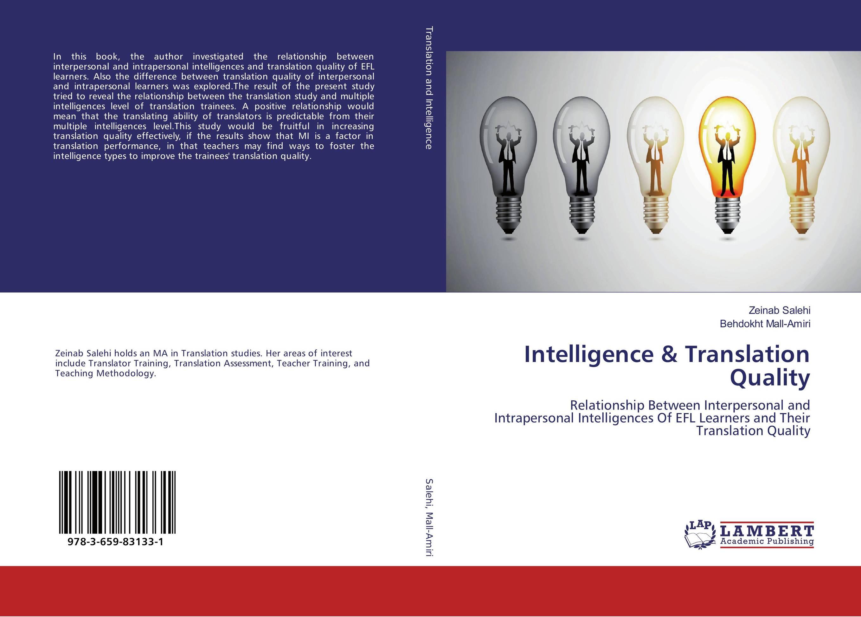 Intelligence & Translation Quality