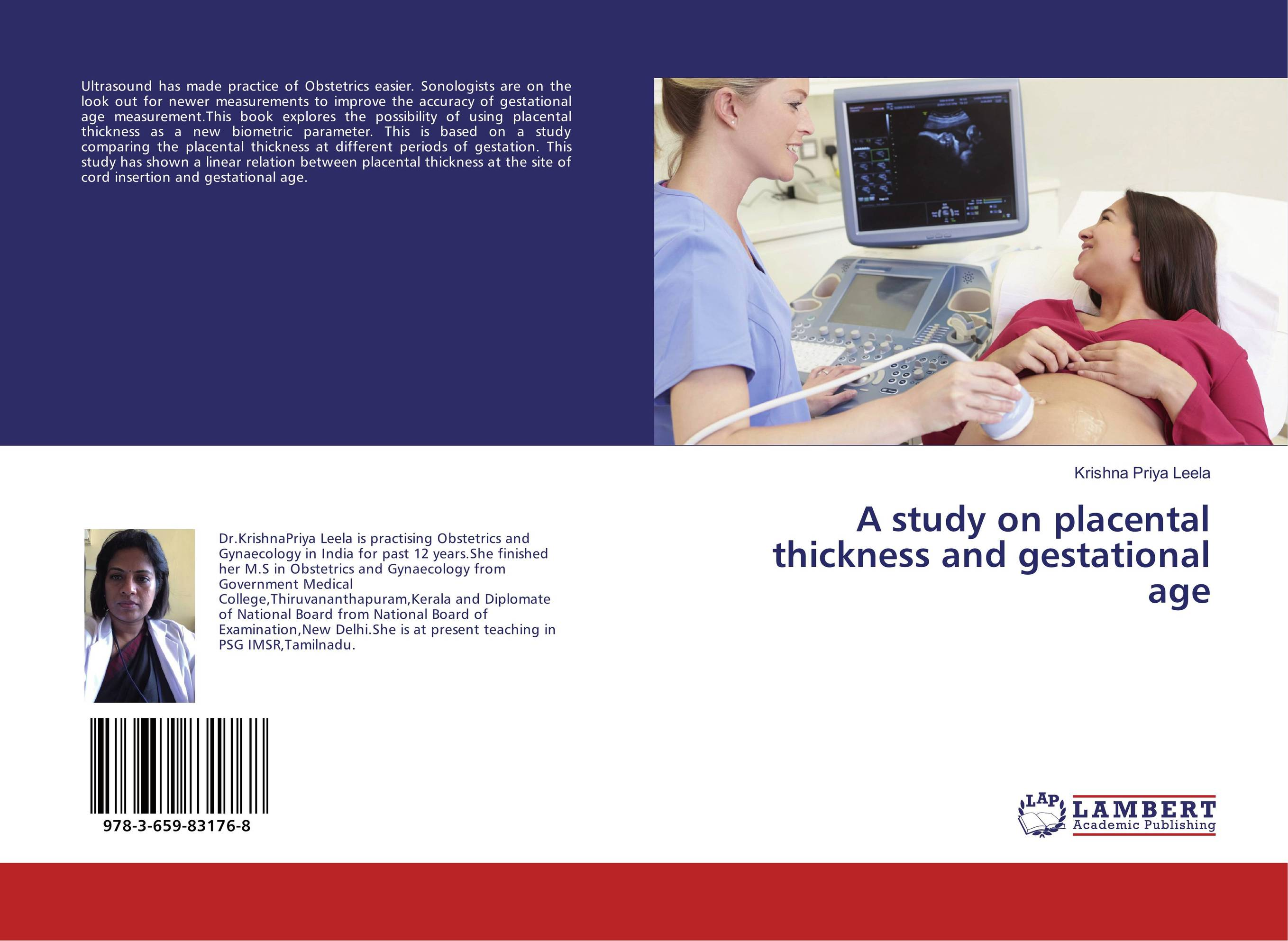 A study on placental thickness and gestational age sonographic placental thickness versus gestational age