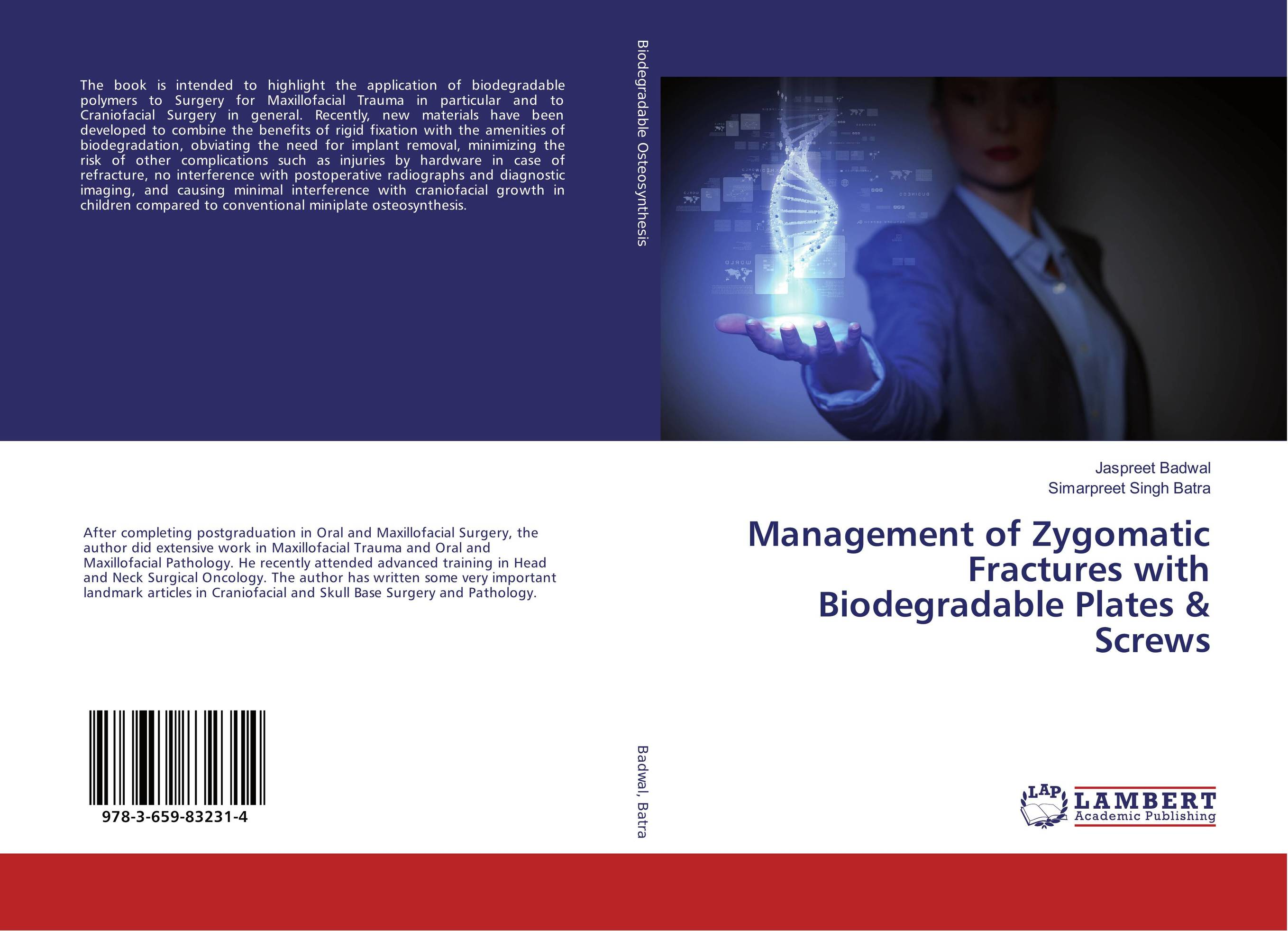 Management of Zygomatic Fractures with Biodegradable Plates & Screws cryosurgery in oral and maxillofacial surgery