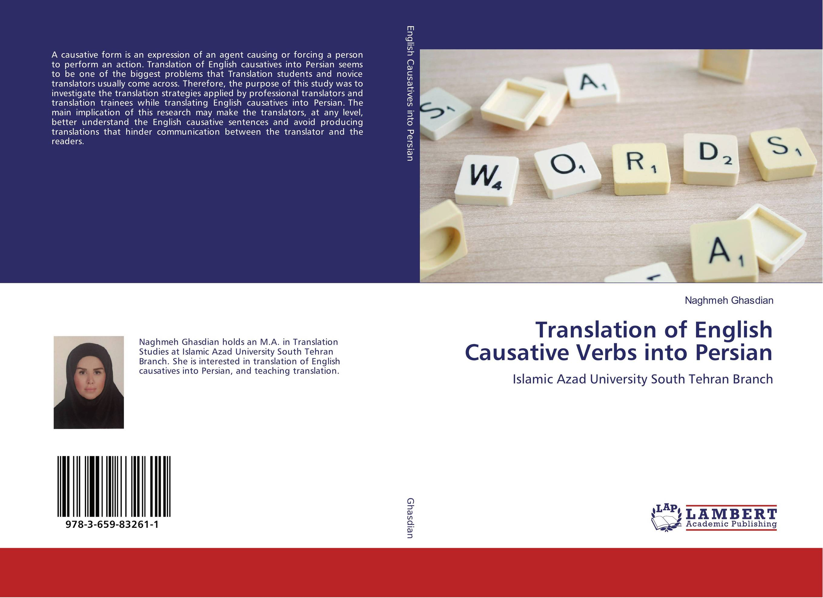 Translation of English Causative Verbs into Persian pooria alirezazadeh an analytical study of translation of stream of consciousness