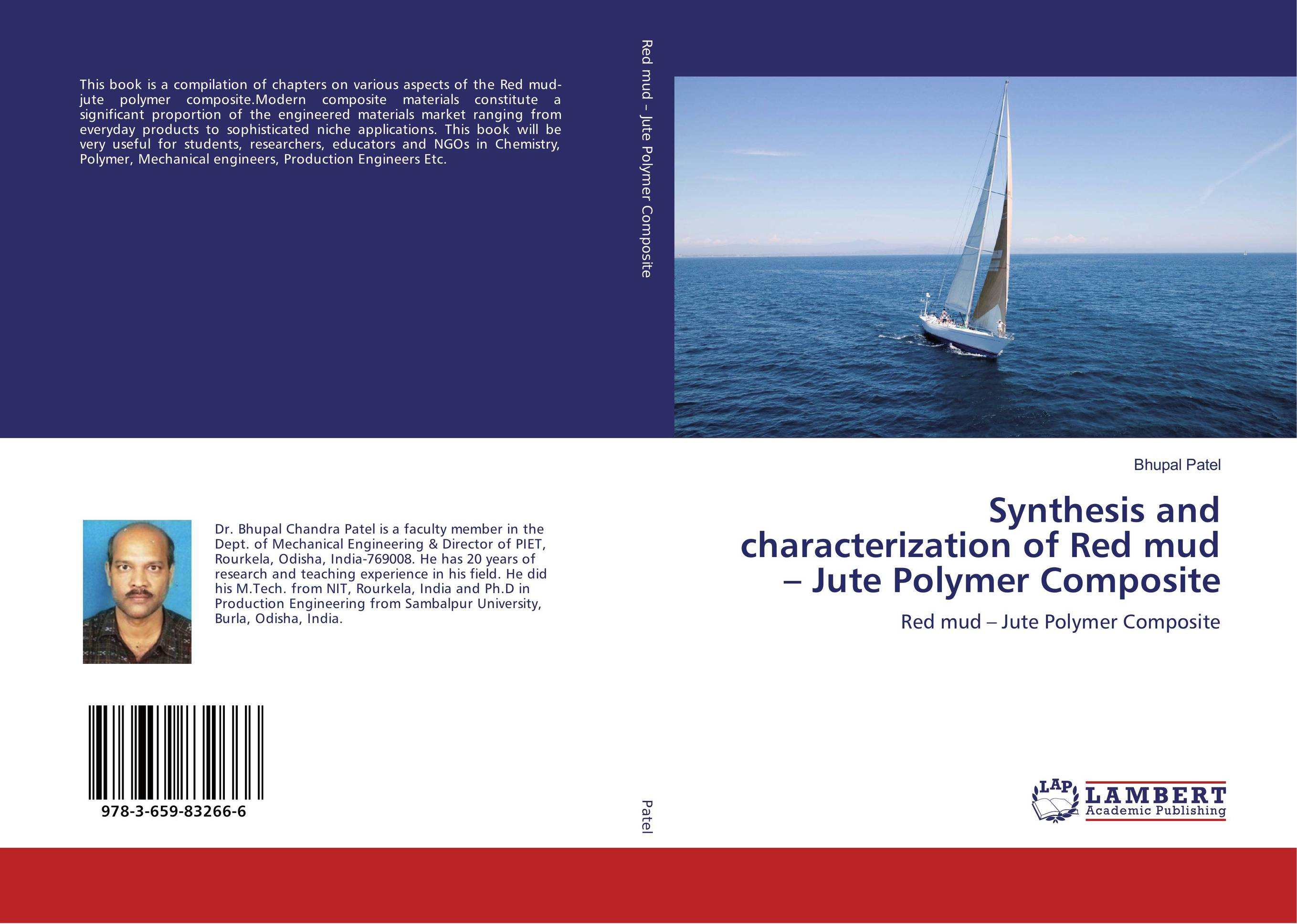 Synthesis and characterization of Red mud – Jute Polymer Composite