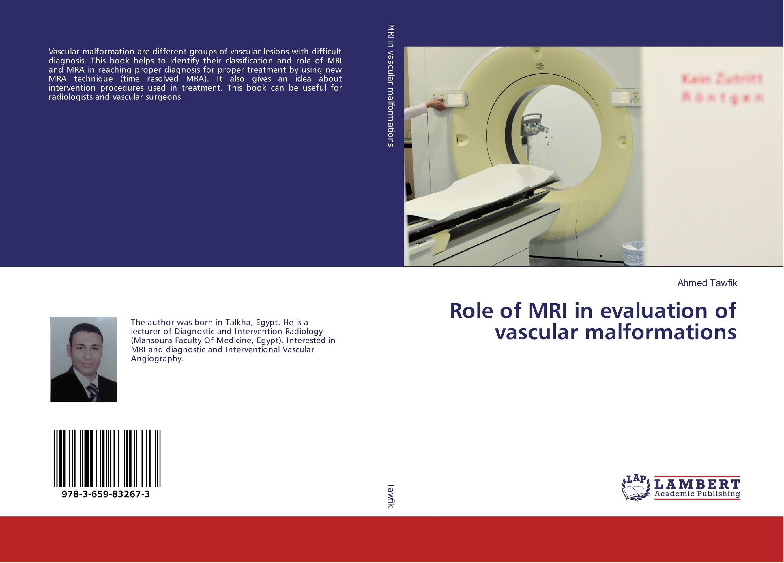 Role of MRI in evaluation of vascular malformations an evaluation of the role of eia database in promoting eia practice
